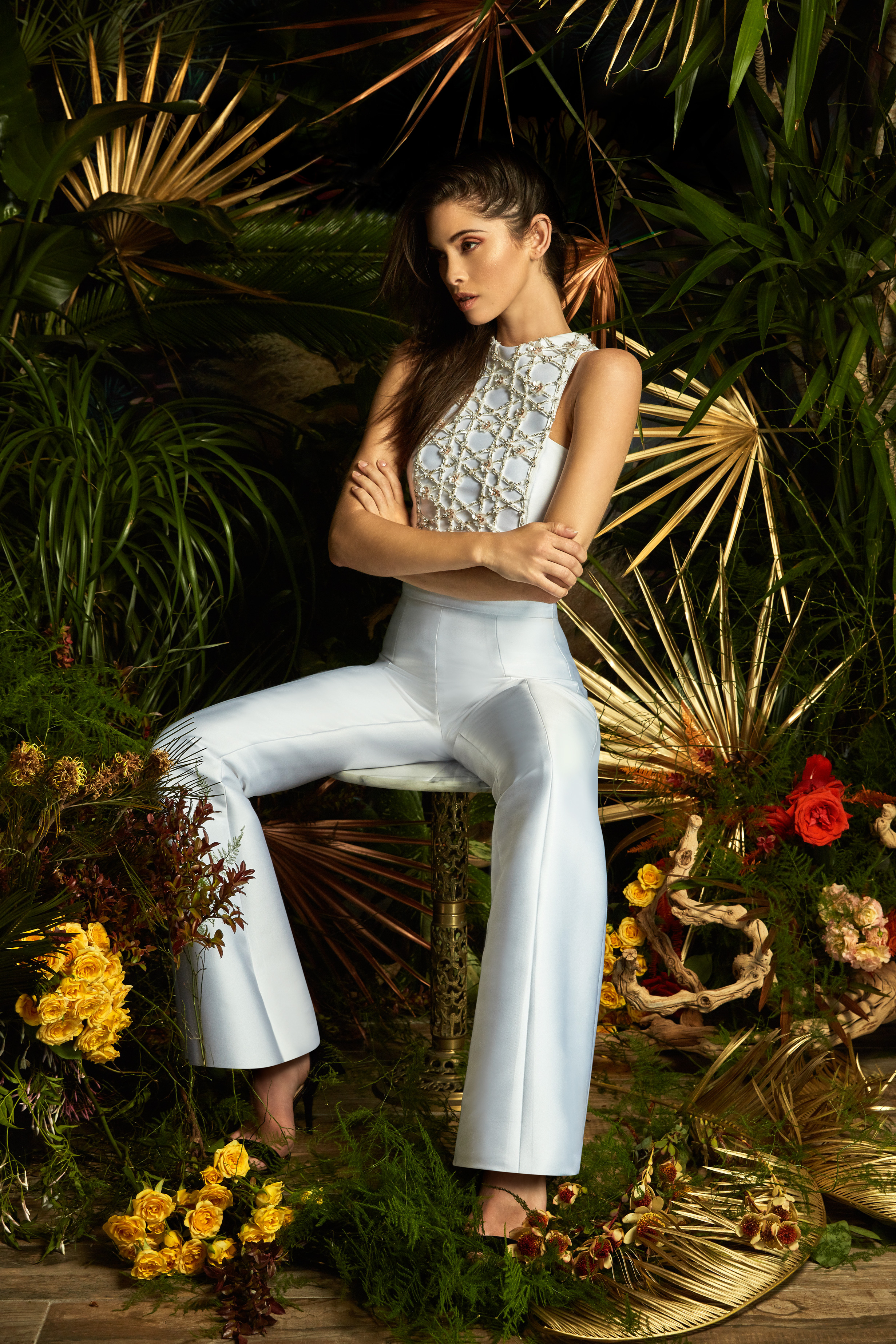 lakum wedding dress spring 2019 pants halter