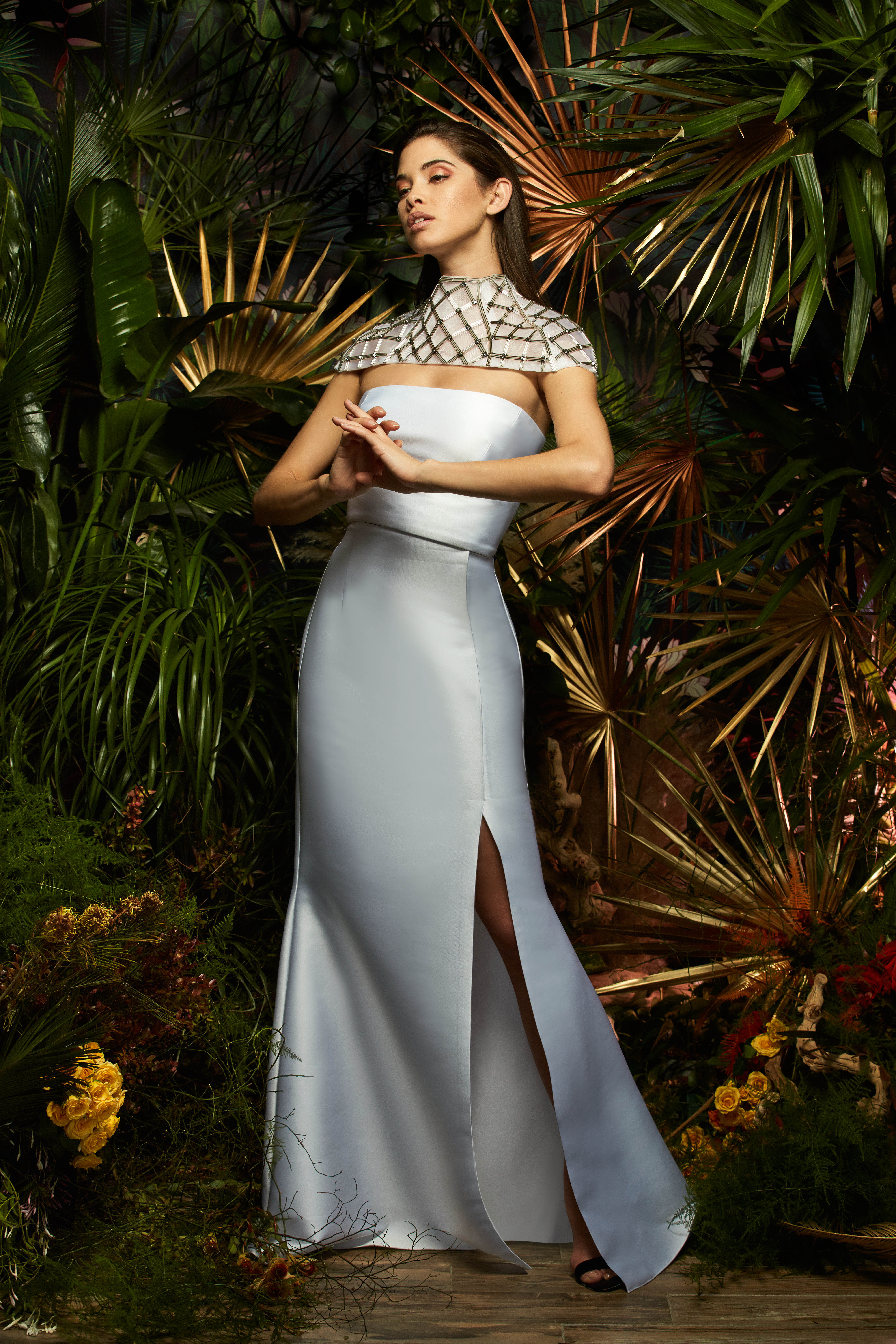 lakum wedding dress spring 2019 strapless