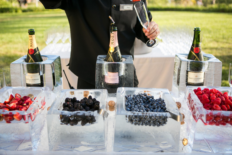 champagne fruit bar