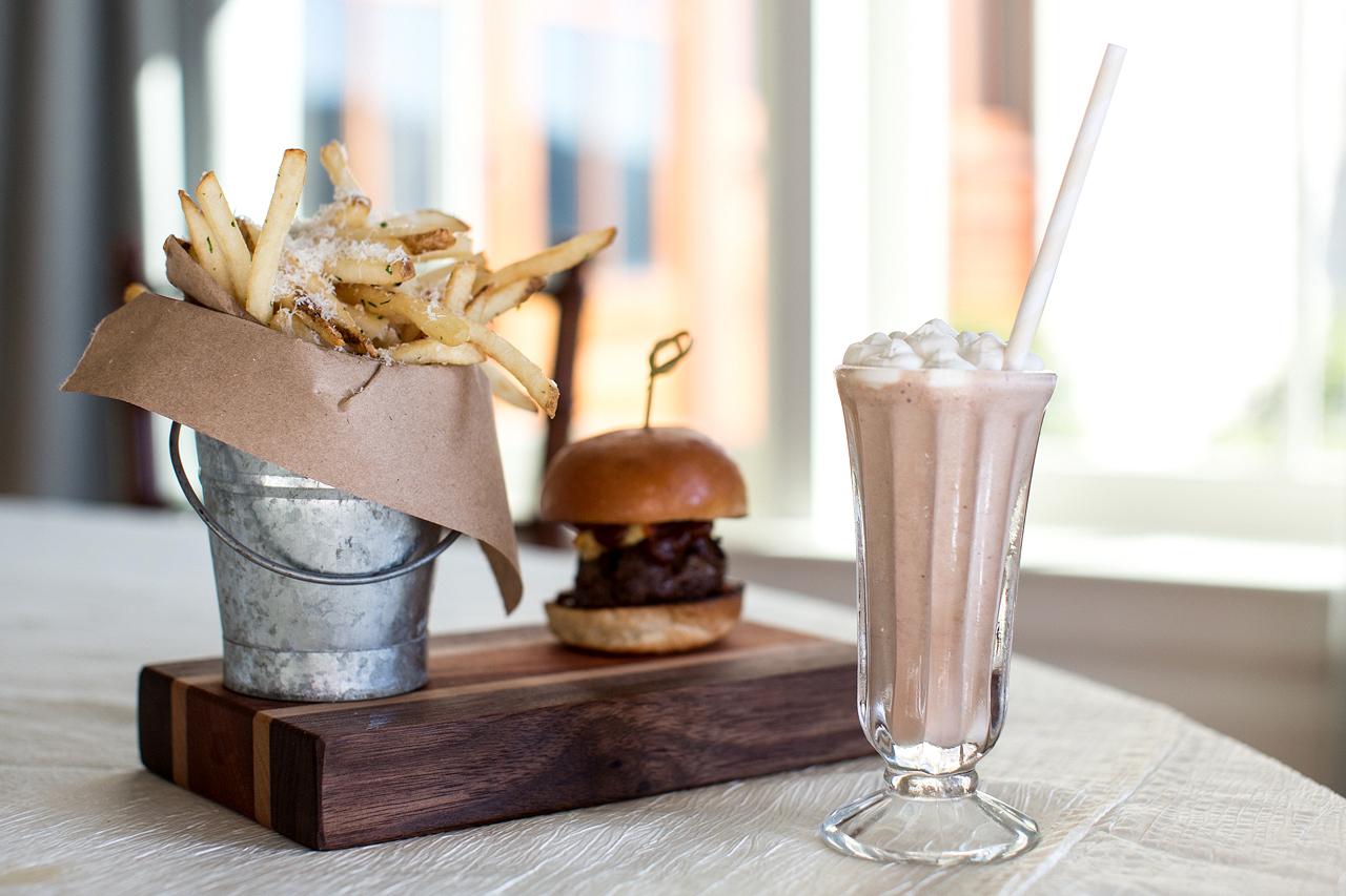 burgers fry shake
