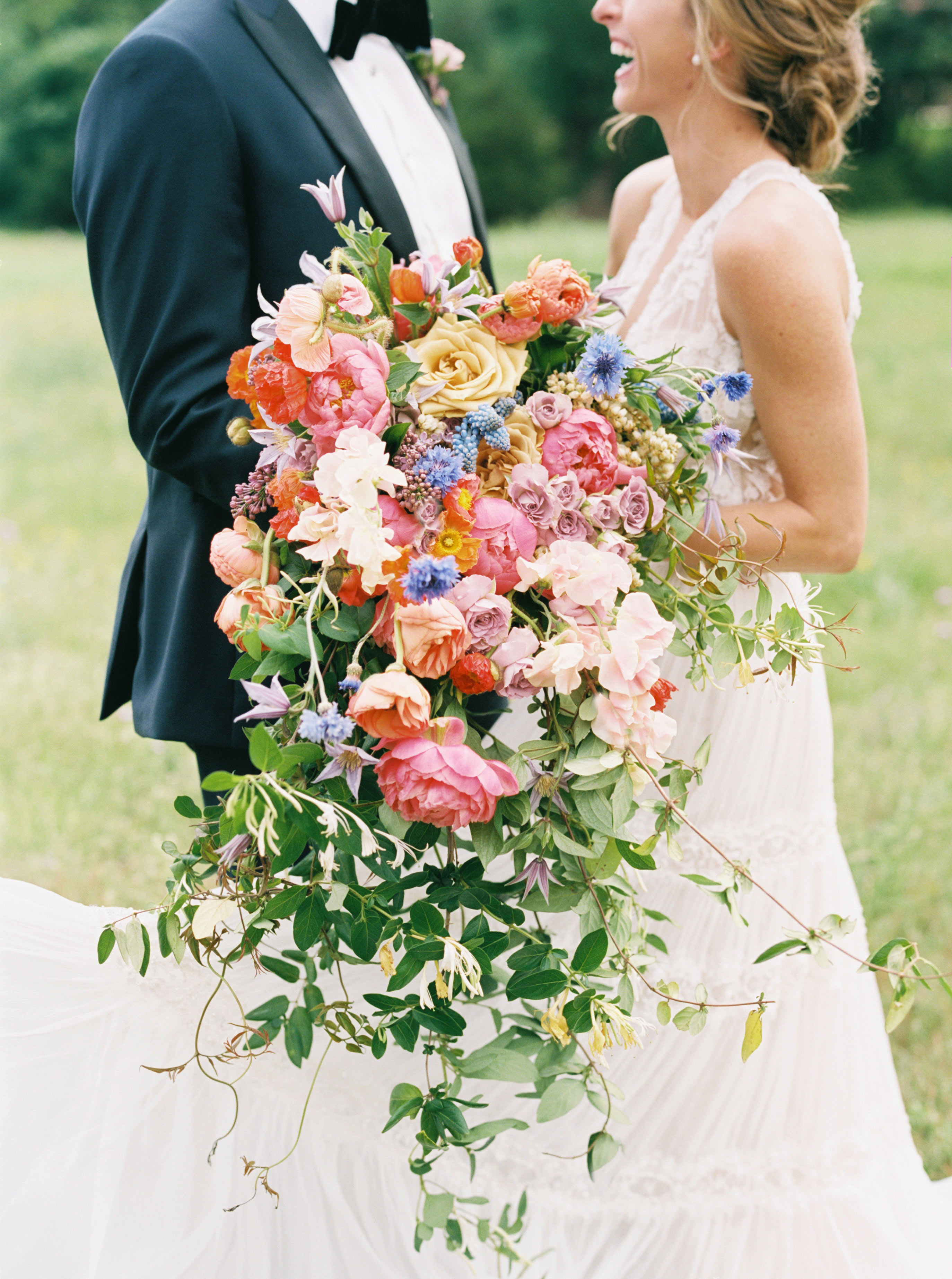ashley adam wedding texas bouquet