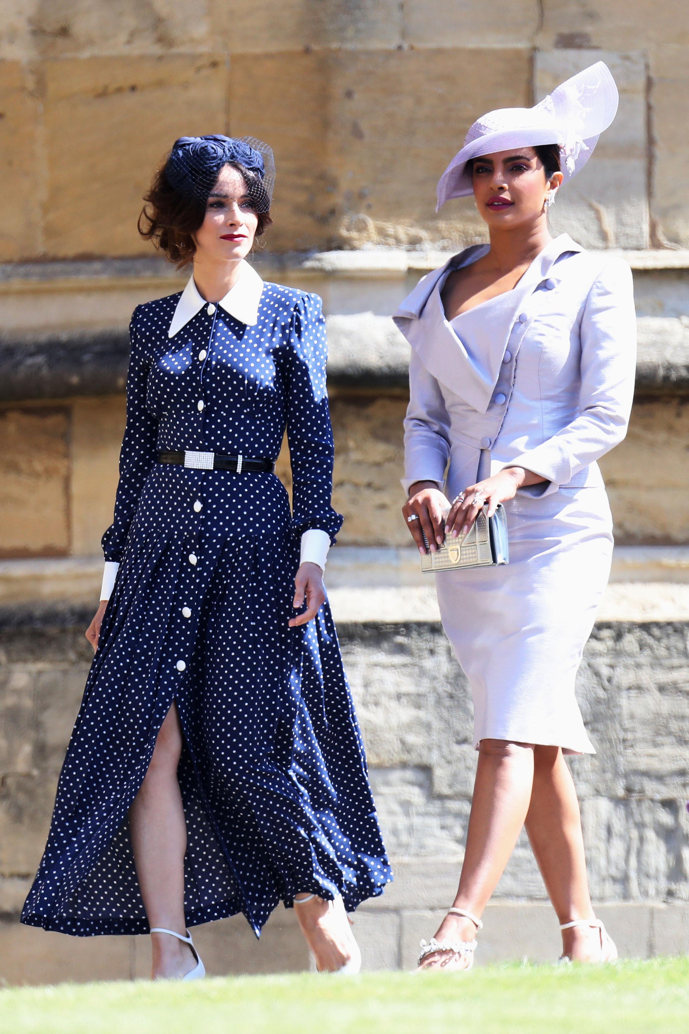 Priyanka Chopra and Abigail Spencer Royal Wedding 2018