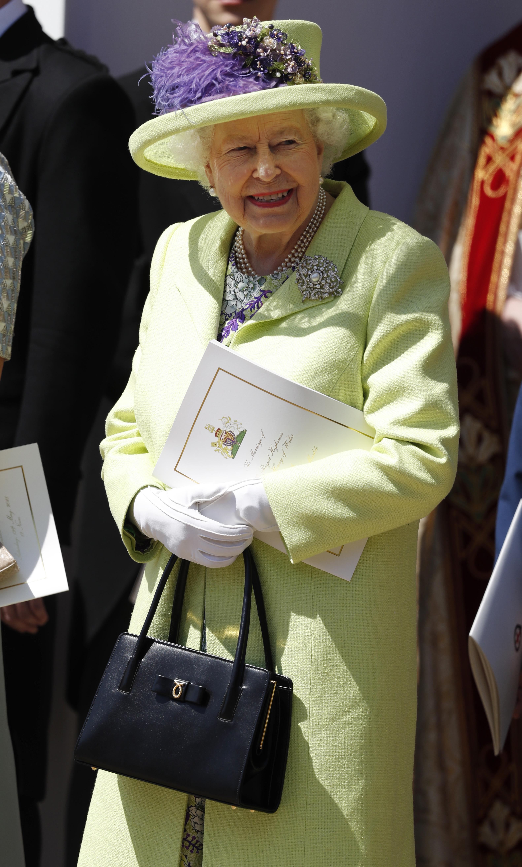 Queen Elizabeth II royal wedding 2018
