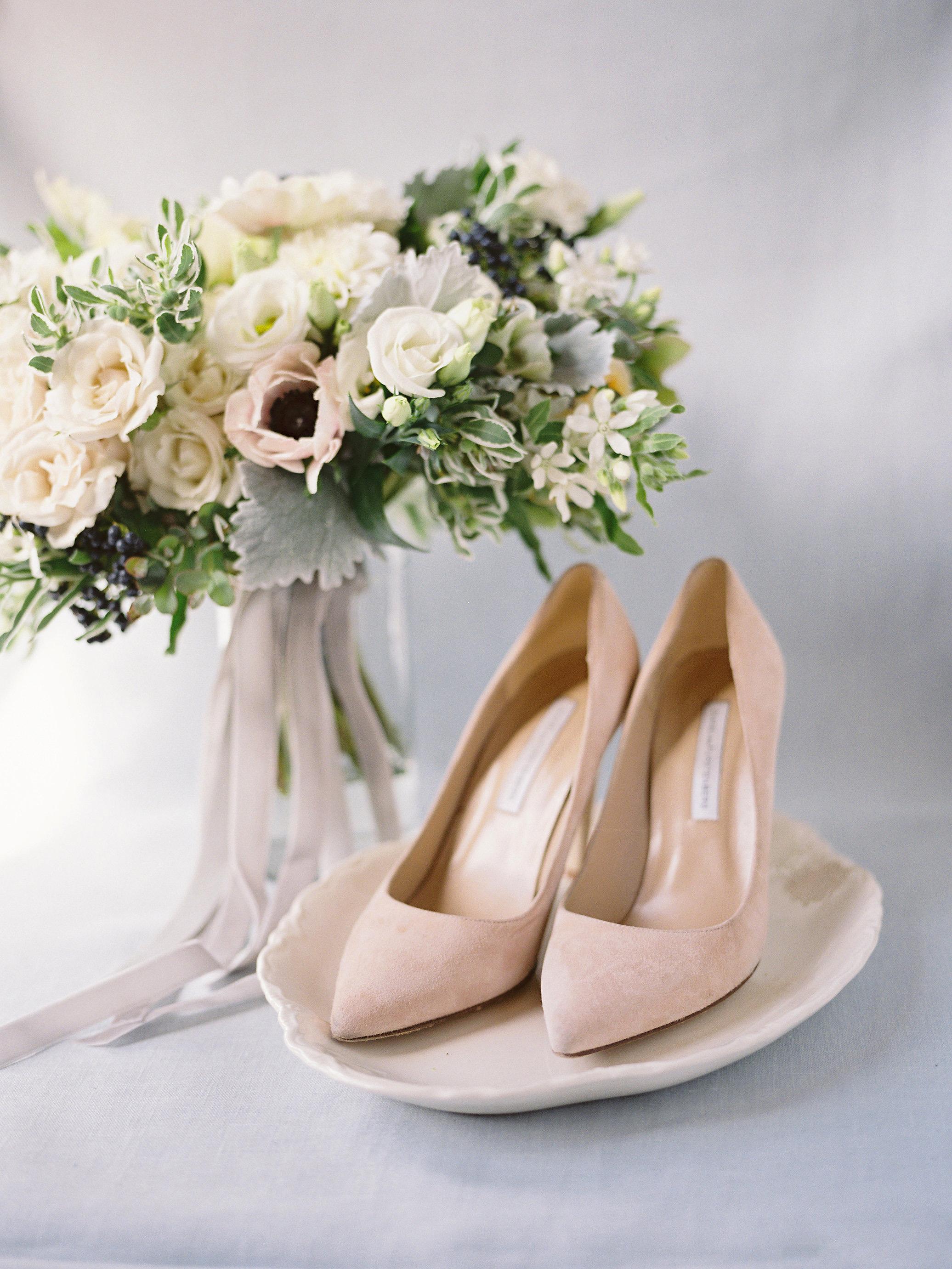 taylor cameron wedding bouquet shoes