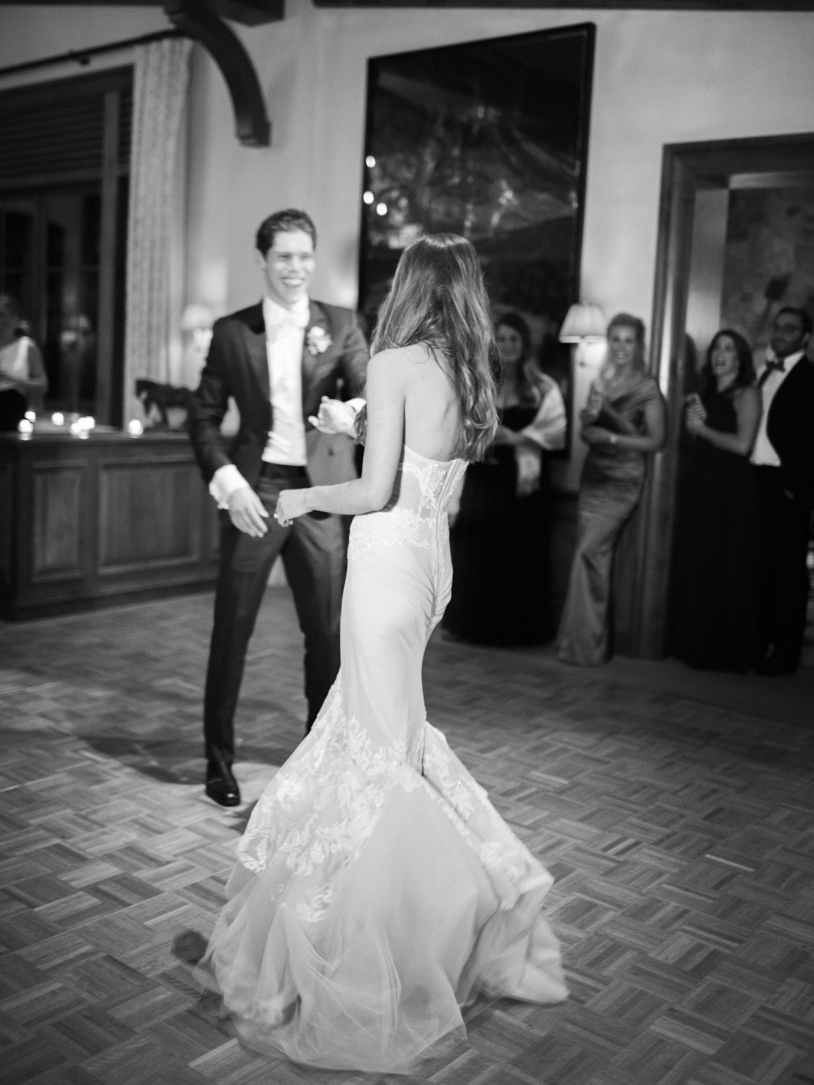 taylor cameron wedding first dance