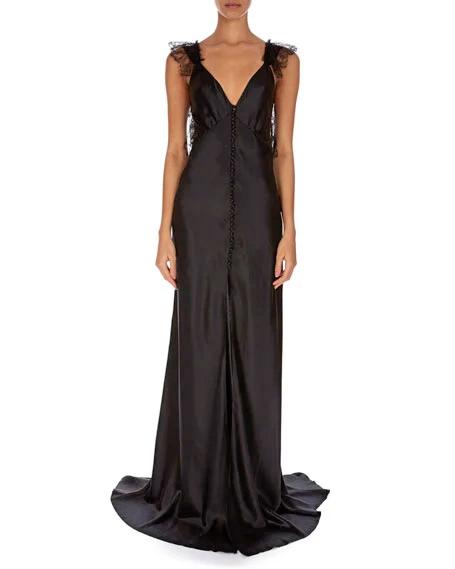 Redemption Sleeveless V-Neck Gown