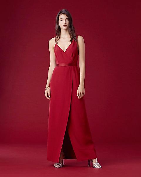 Diane Von Furstenberg Side Slit Gown