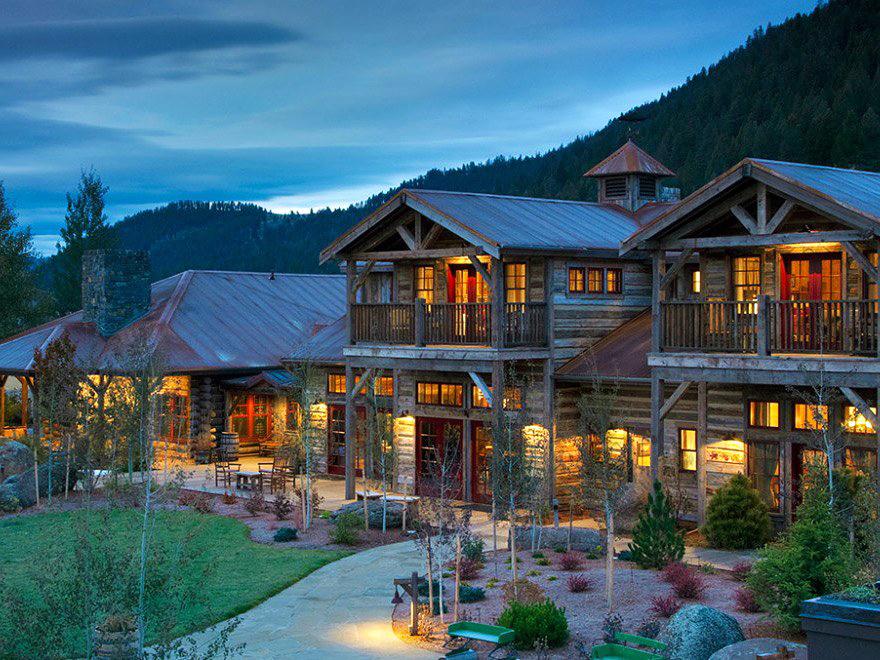 dude ranch honeymoon ranch at rock creek cabins night sky