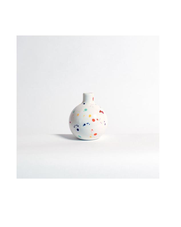hollowware anniversary gifts confetti vase felt and fat