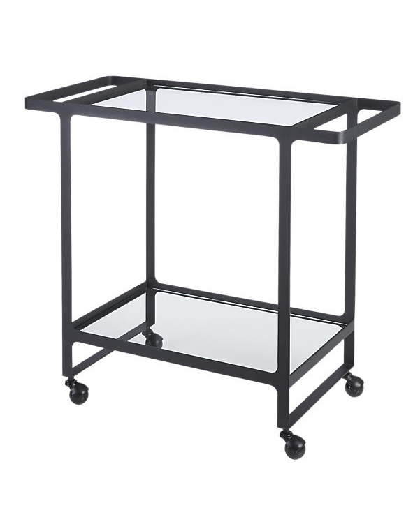 iron anniversary gifts dolce vita bar cart