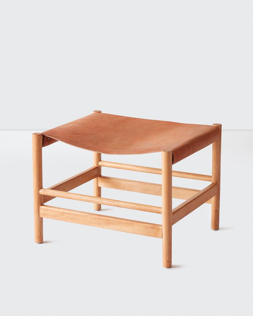leather anniversary gifts citizenry leather stool