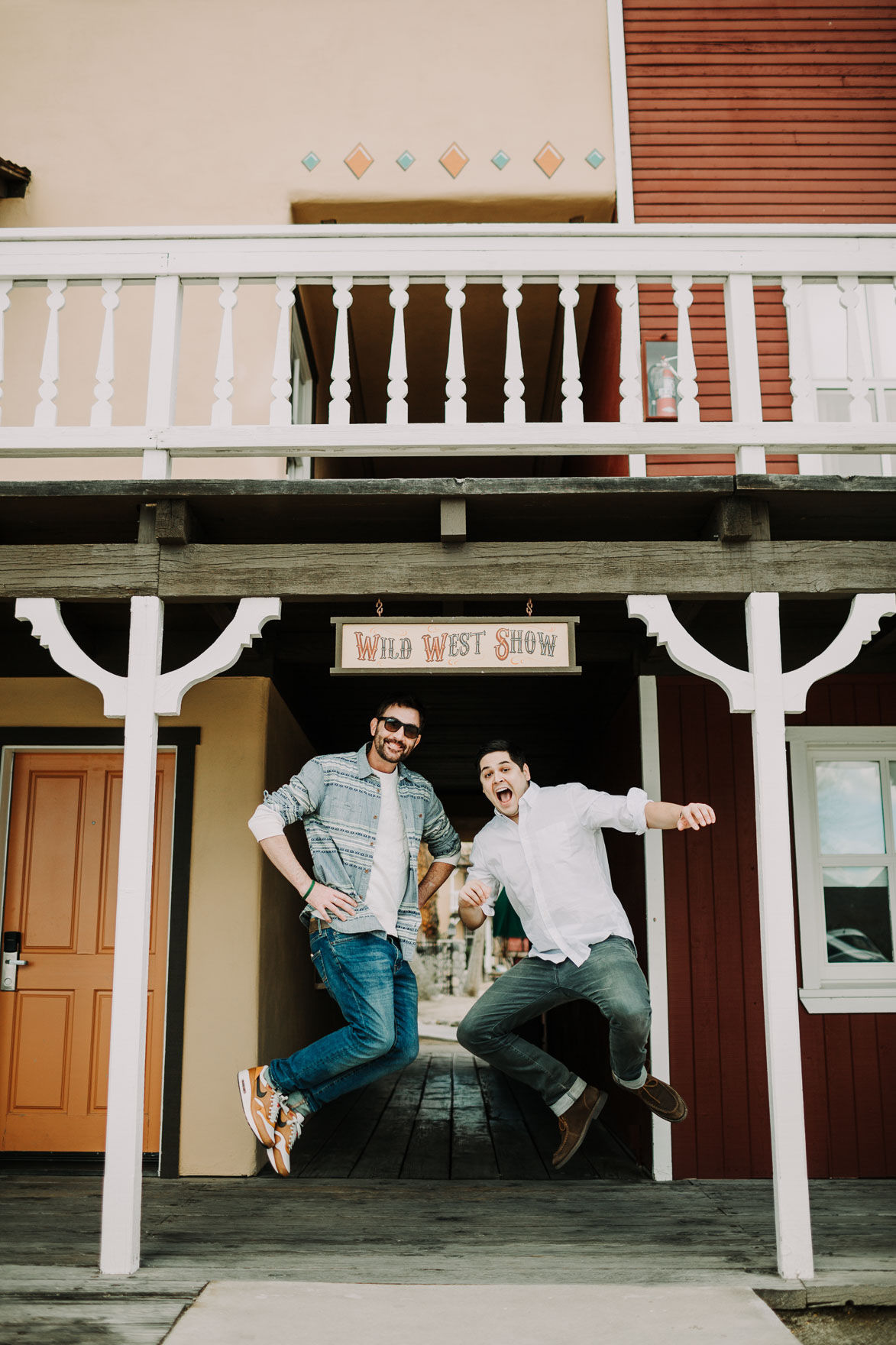 engagement photo ideas lets frolic together