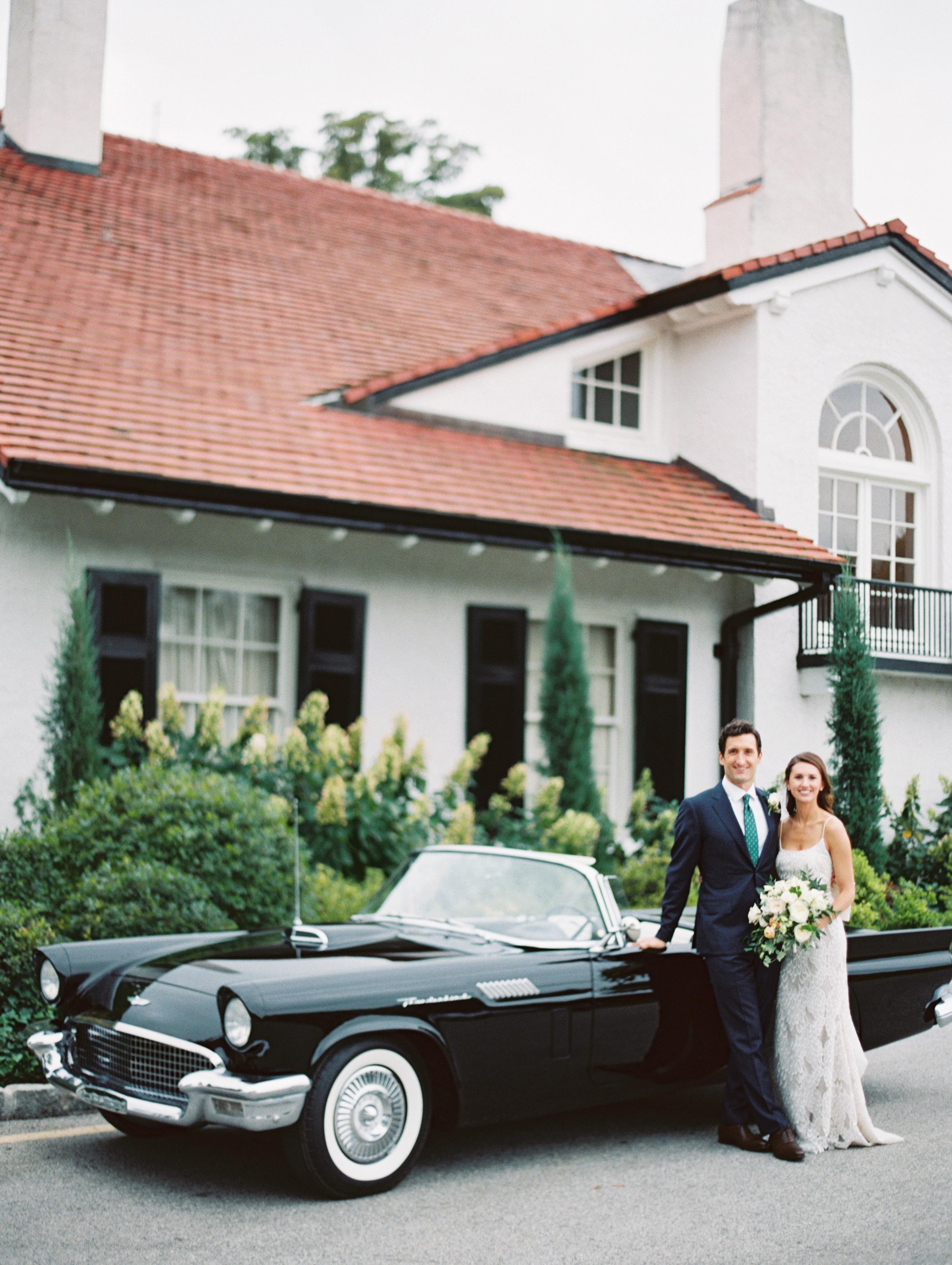 vintage convertible portrait