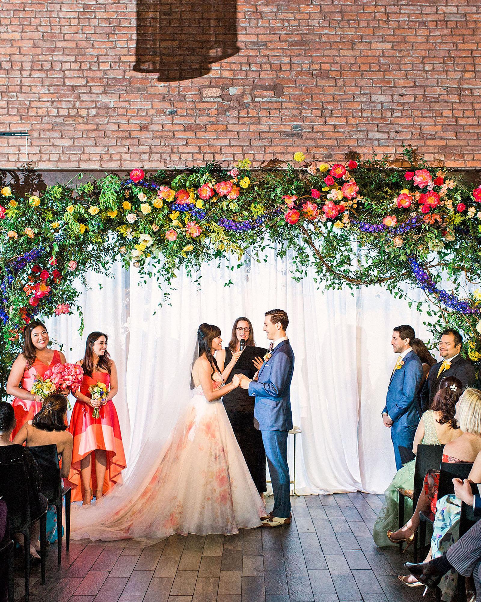 risa ross wedding brooklyn new york ceremony