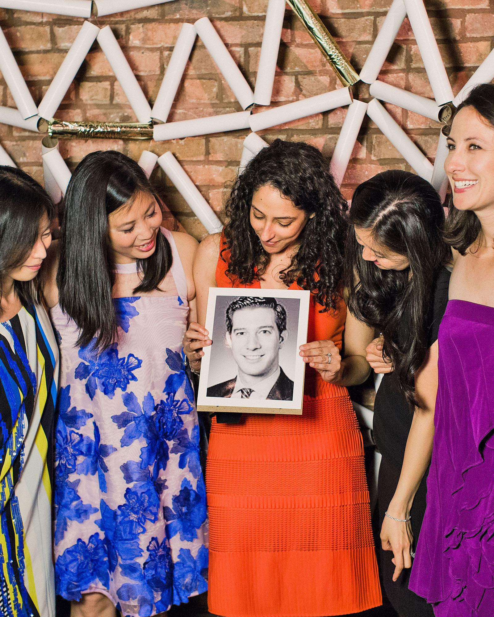 risa ross wedding brooklyn new york photo booth props