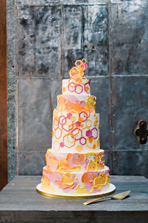 risa ross wedding brooklyn new york cake