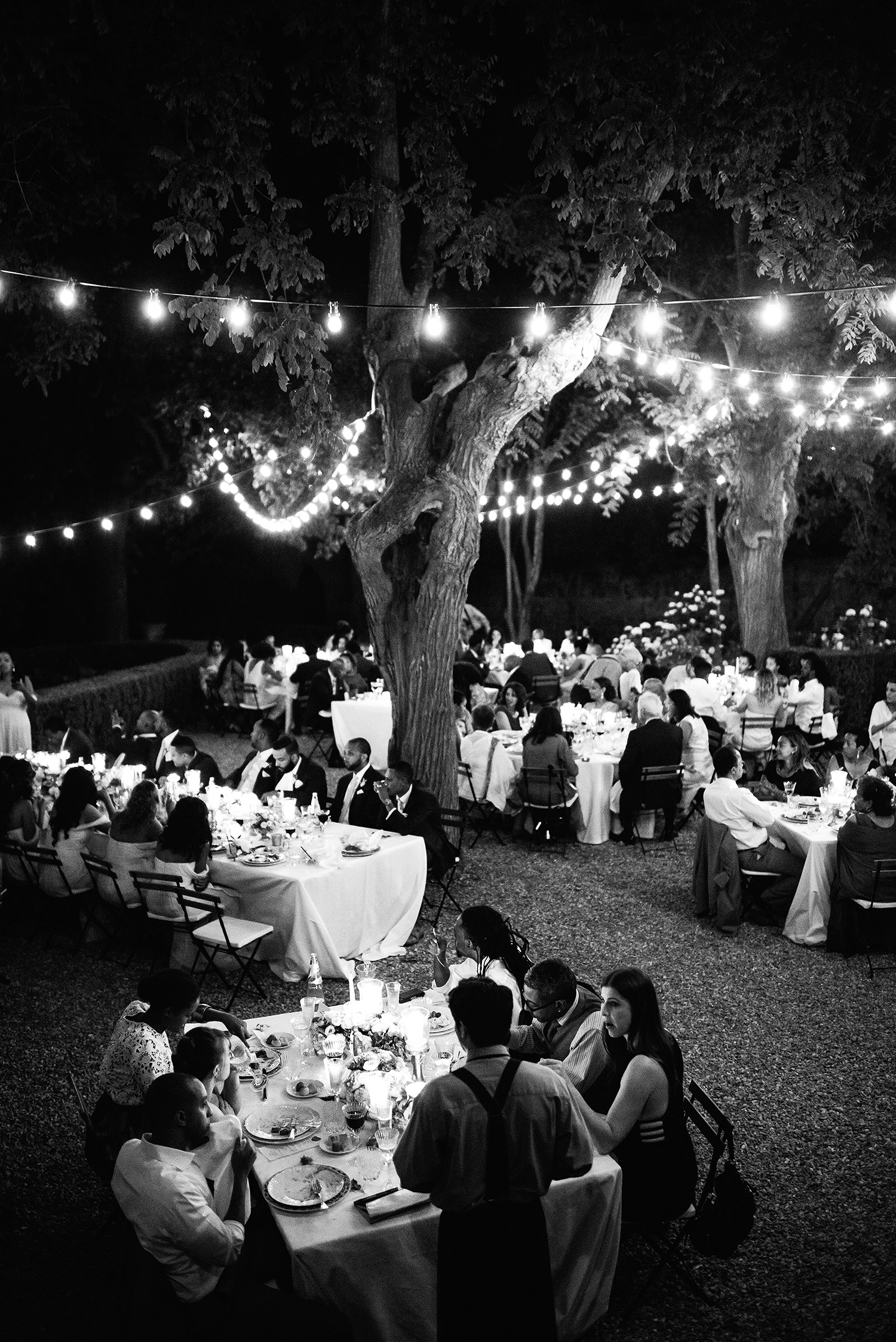 veronica mickias wedding outdoor reception