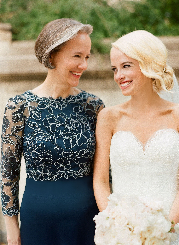 washington dc wedding mother and bride
