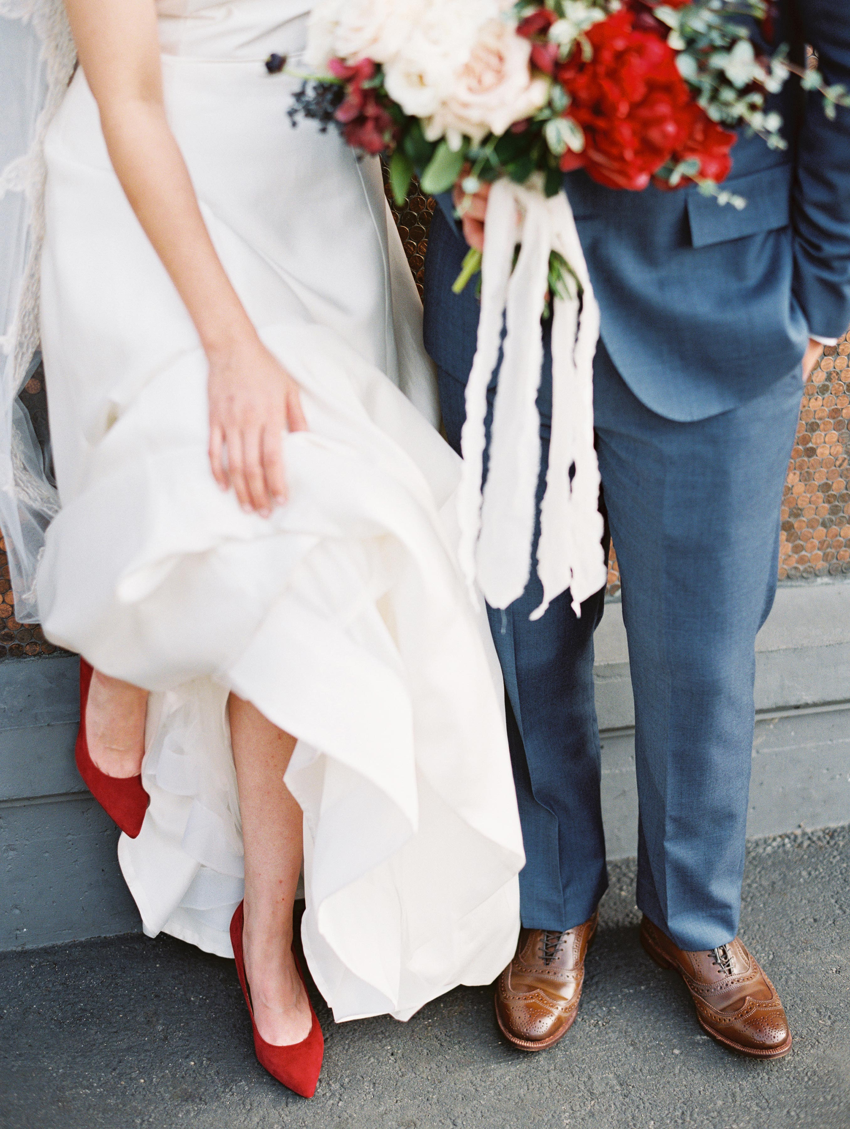 Can You Wear Flats On Your Wedding Day Here S What The Expert