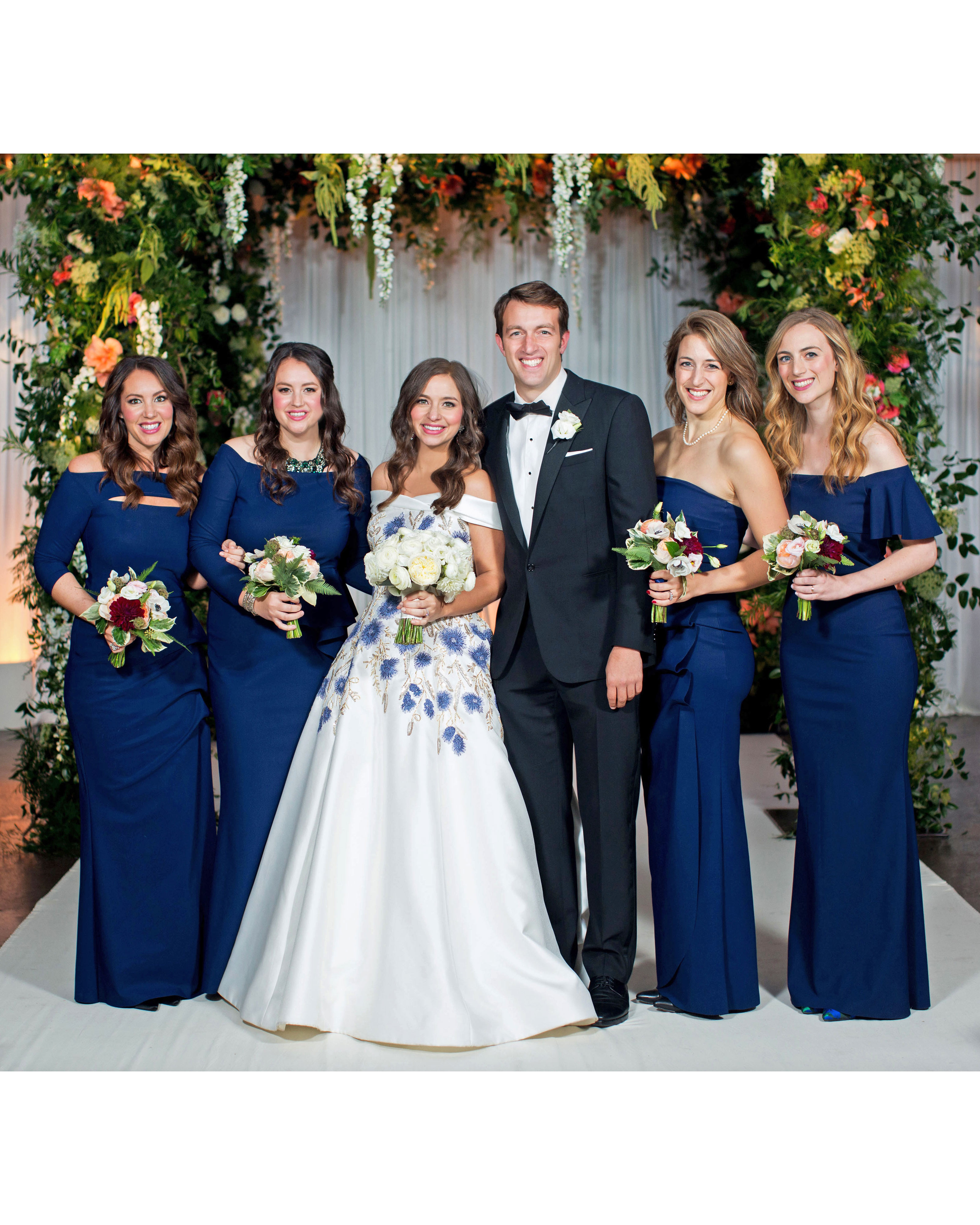kori paul wedding bridesmaids