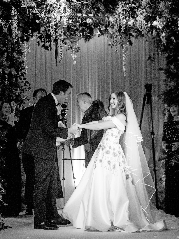 kori paul wedding ceremony celebrating