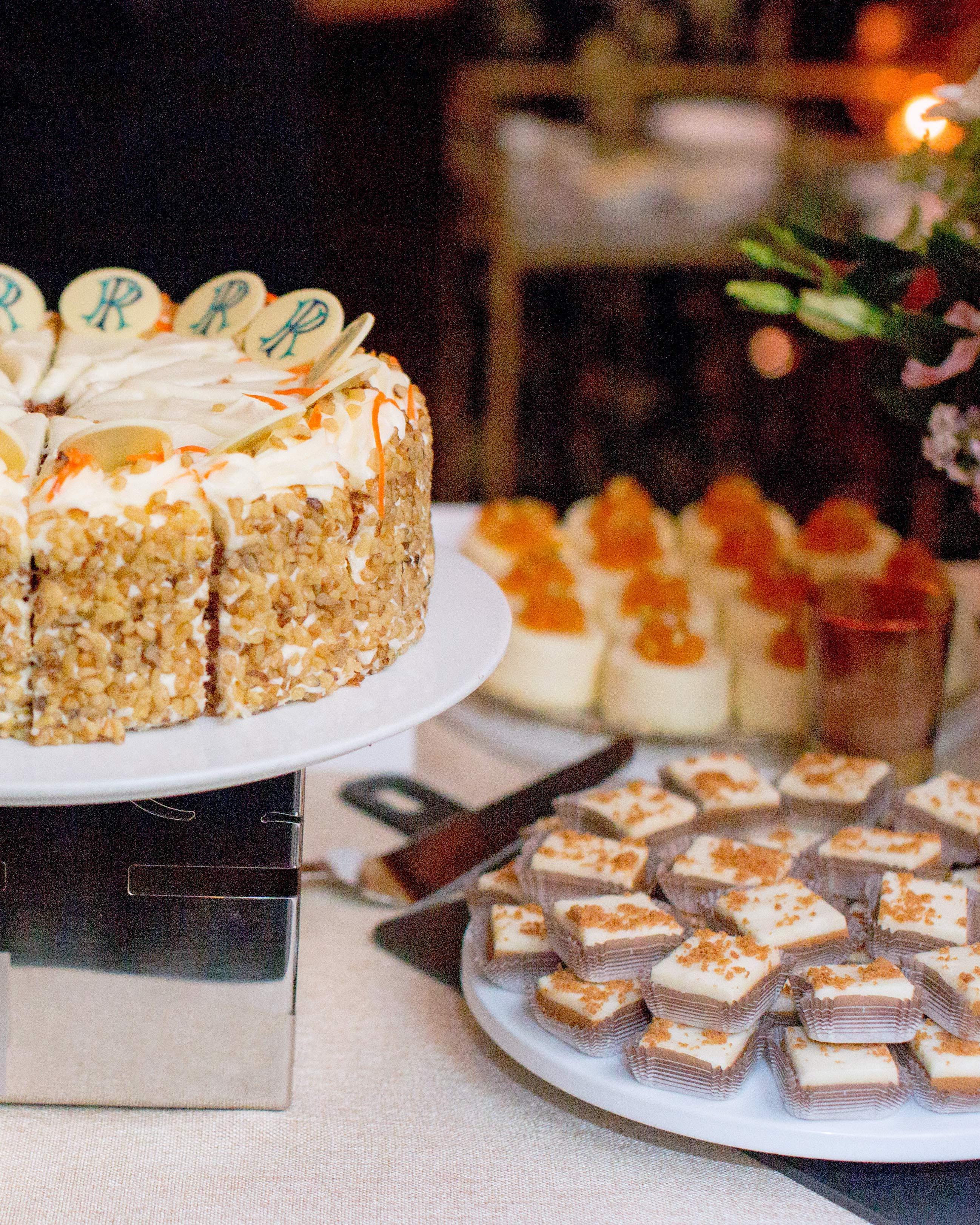 kori paul wedding dessert table
