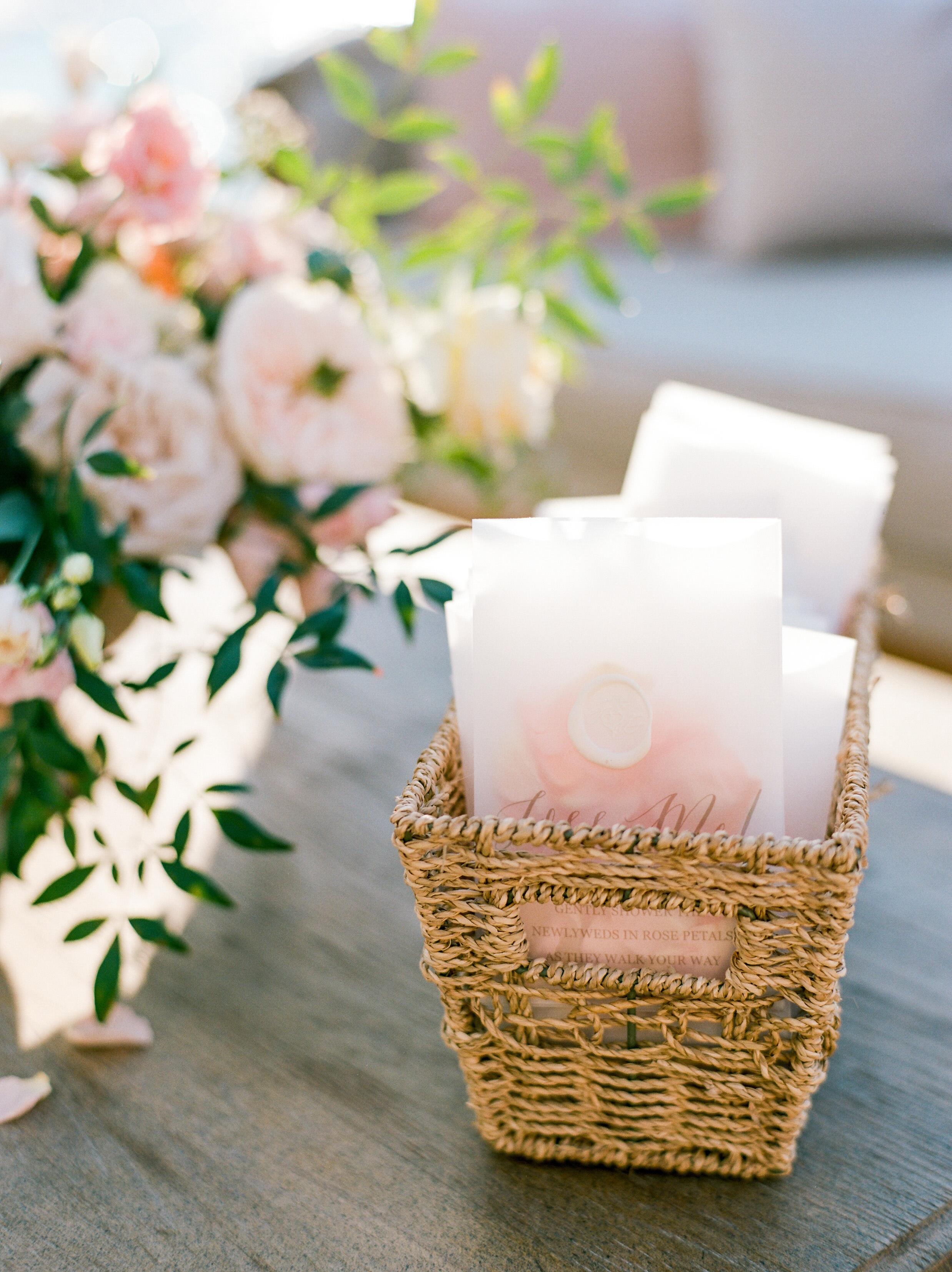 texas wedding toss bags