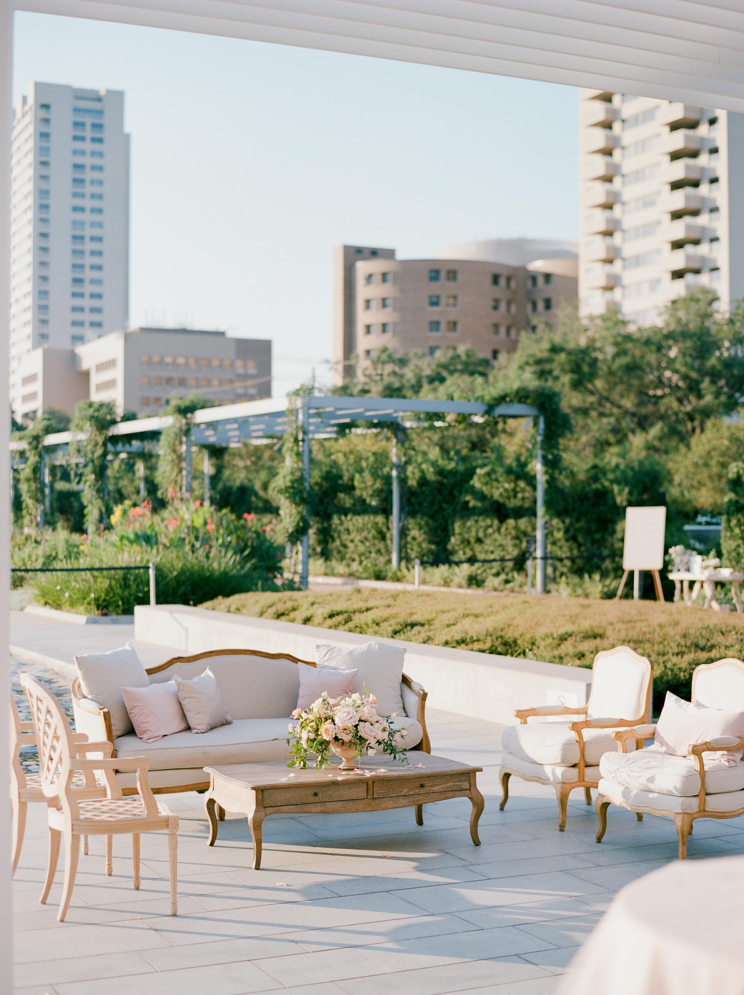 texas wedding lounge urban scenery