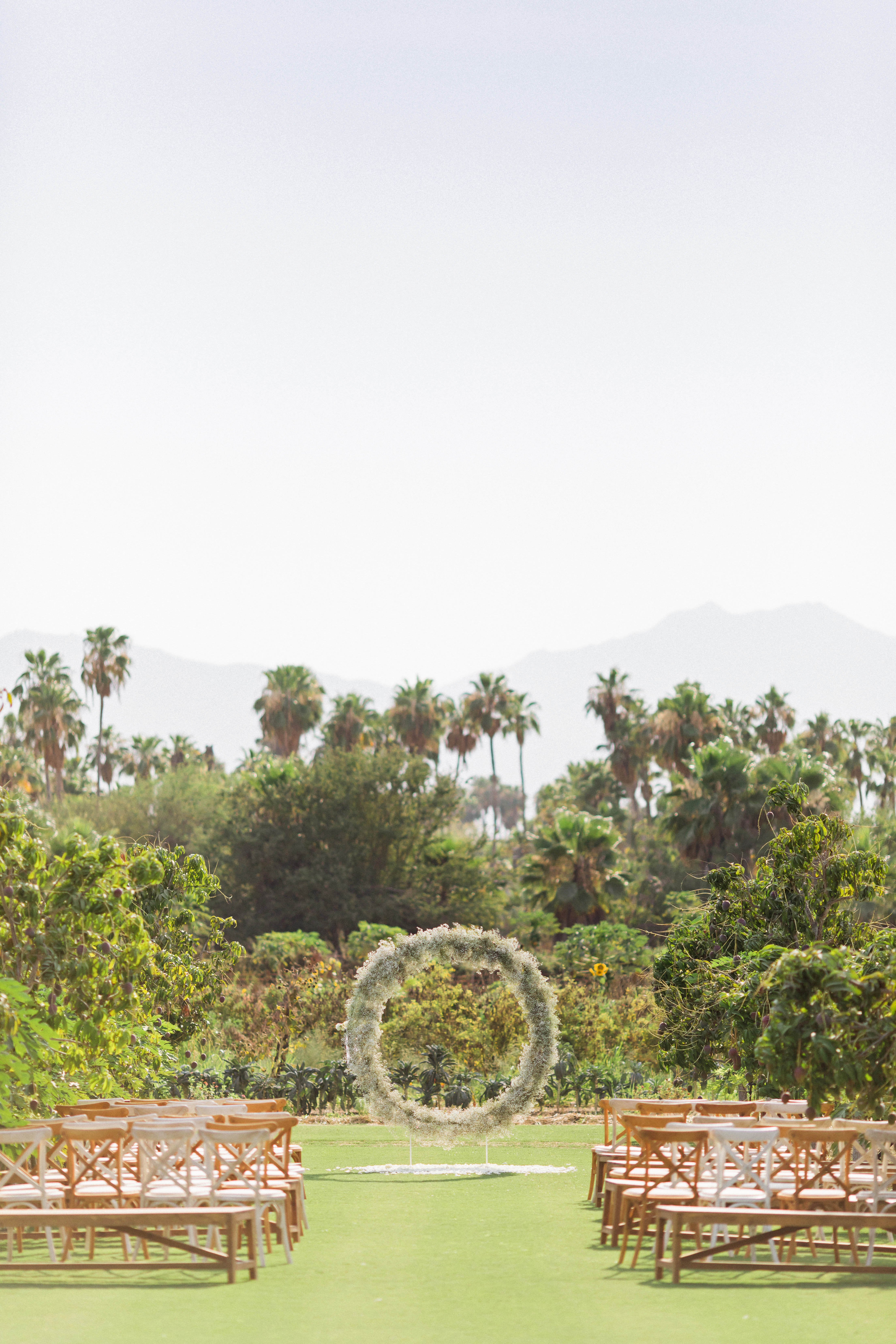 brittany craig wedding ceremony layout