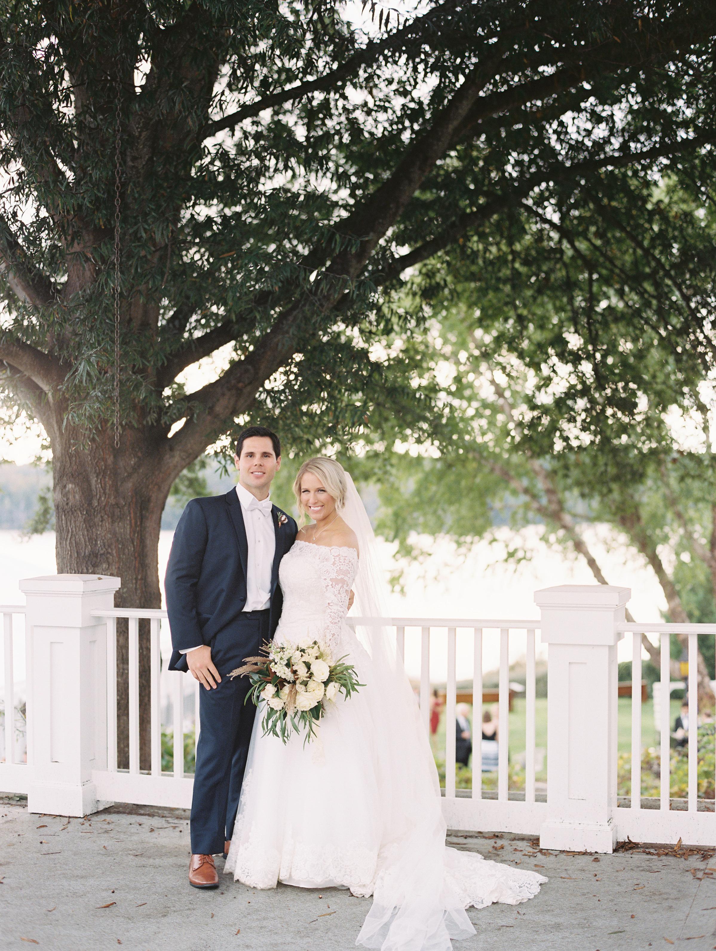 kendall nick wedding couple