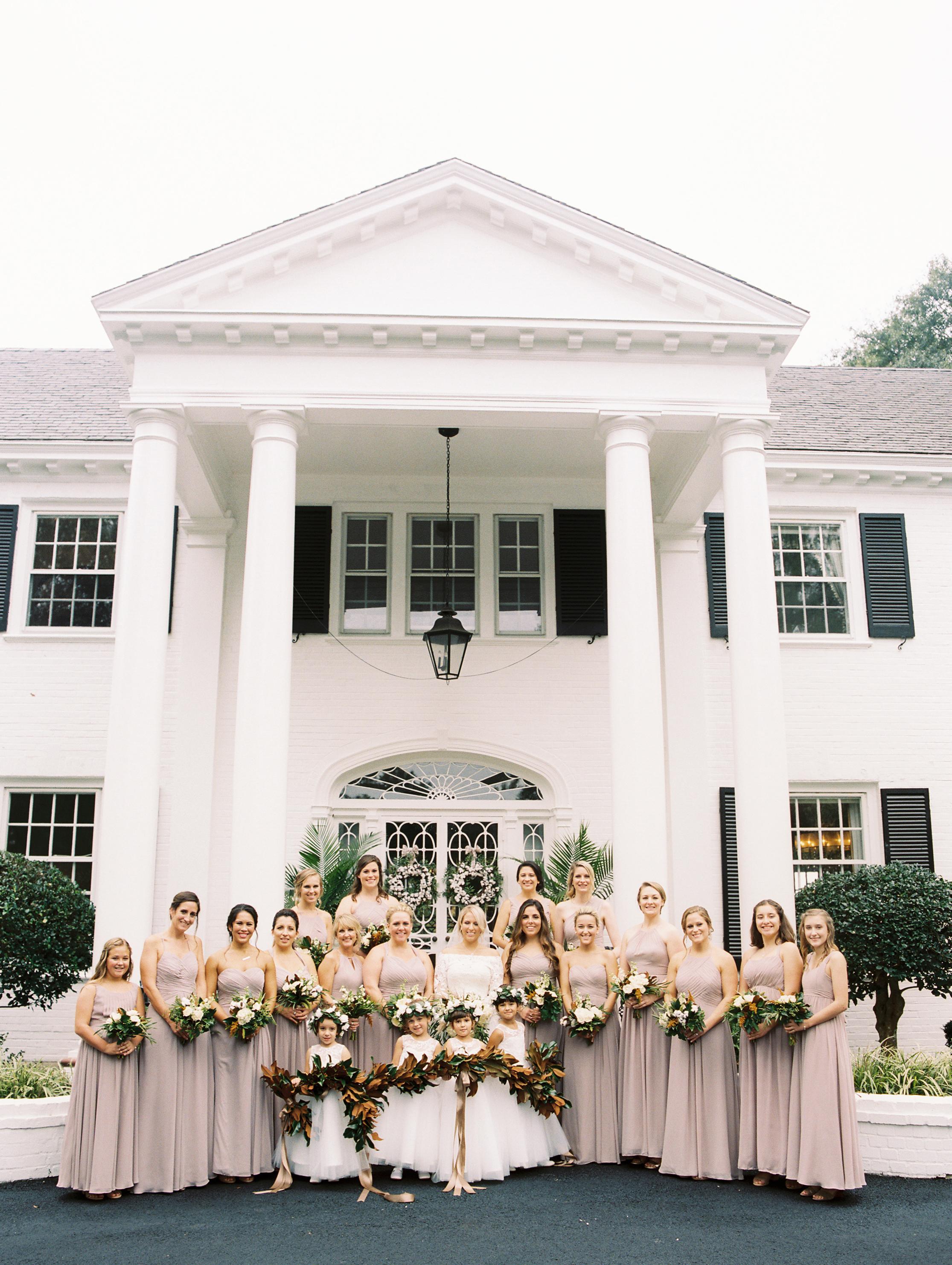 kendall nick wedding bridesmaids
