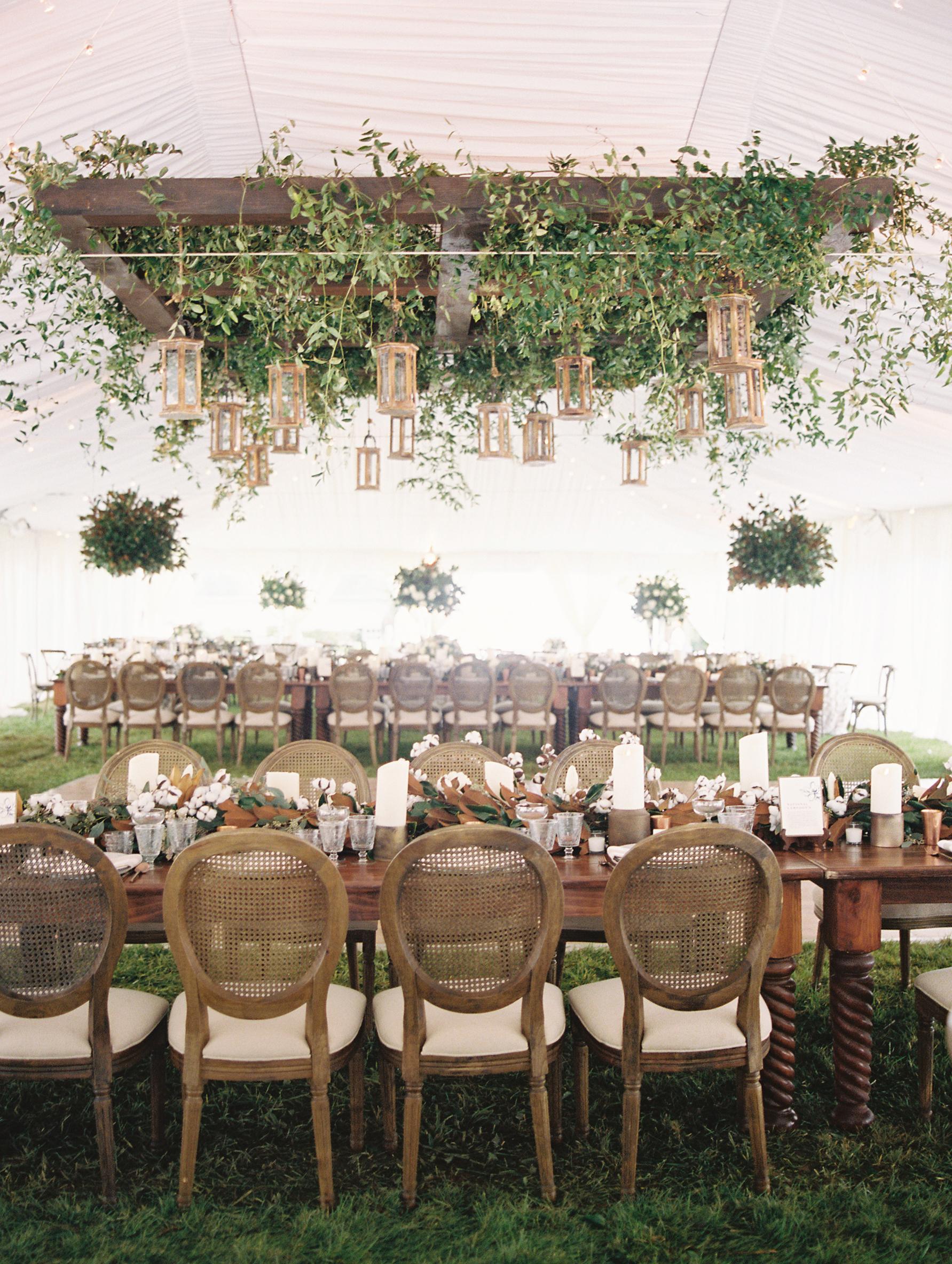 kendall nick wedding reception tables