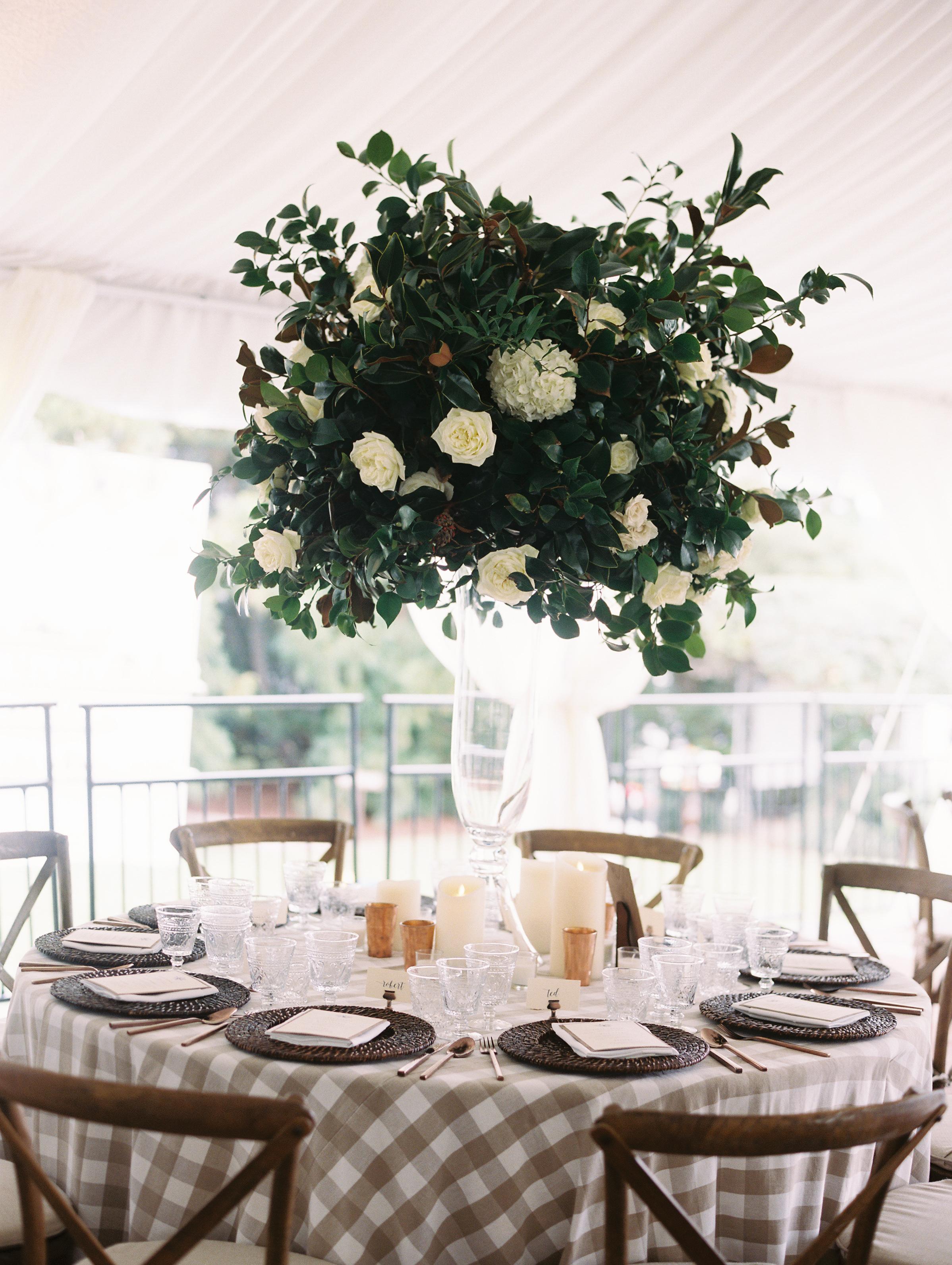 kendall nick wedding table