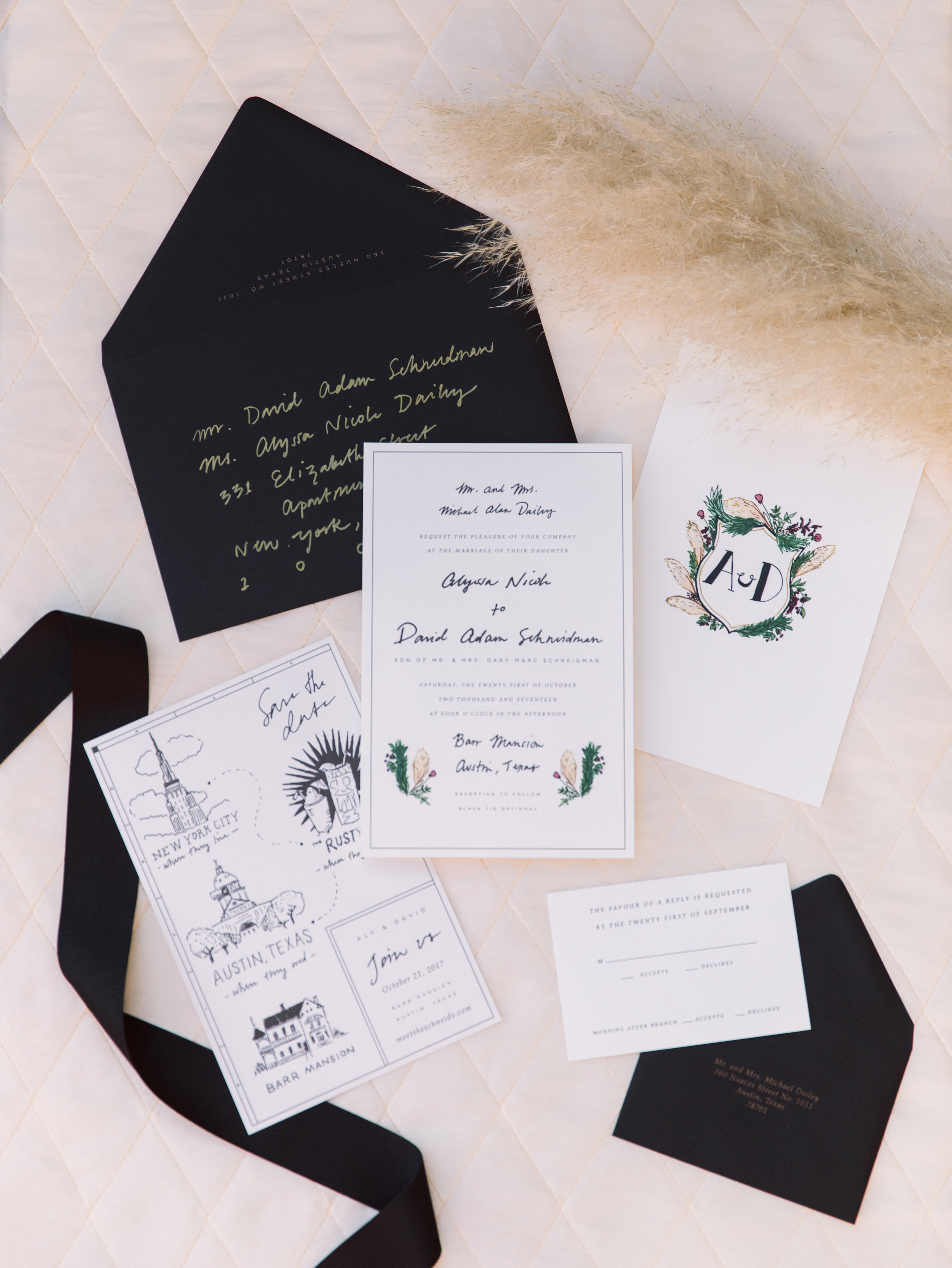 wedding stationary invitations