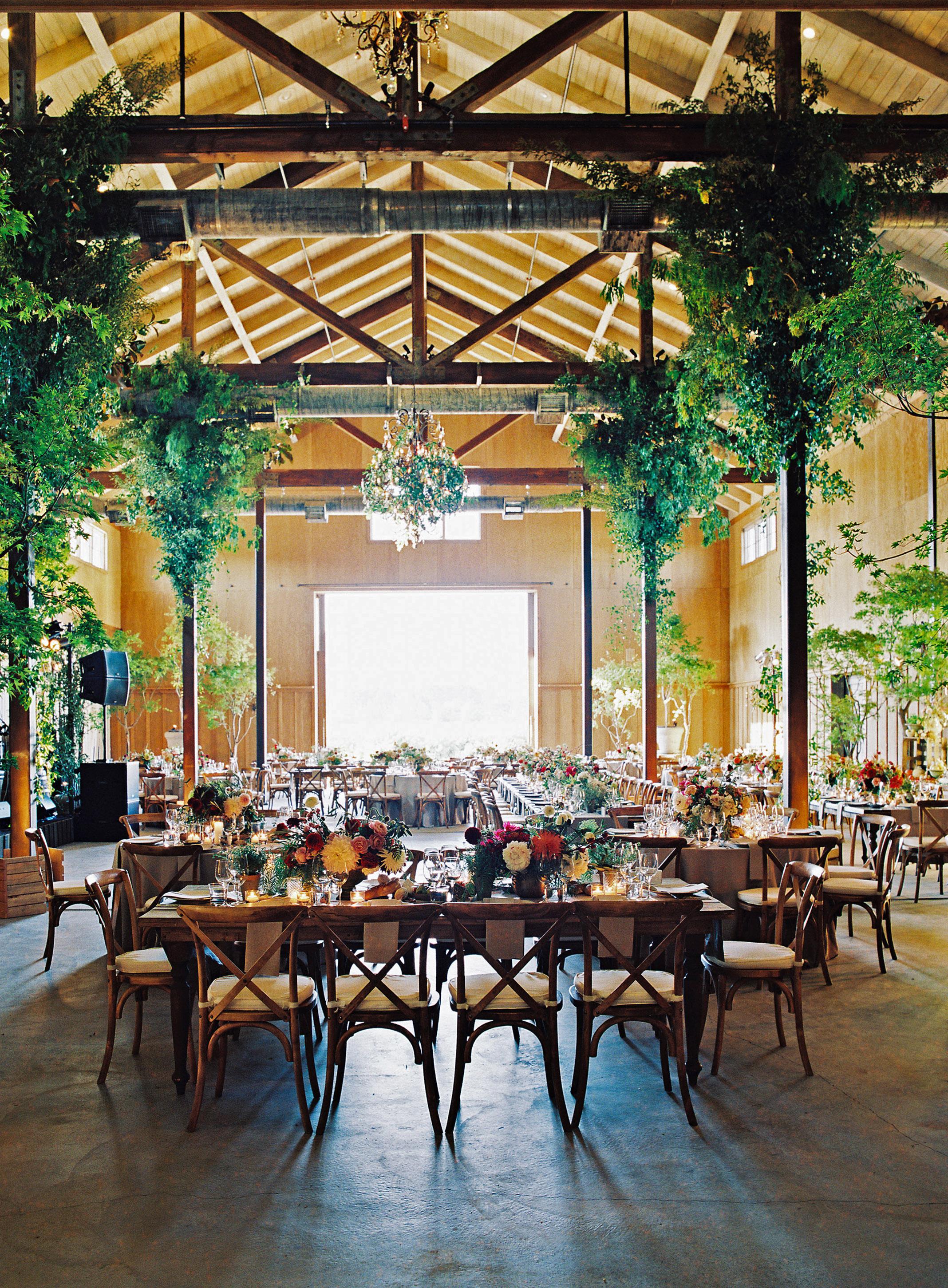 emily siddartha wedding reception tables