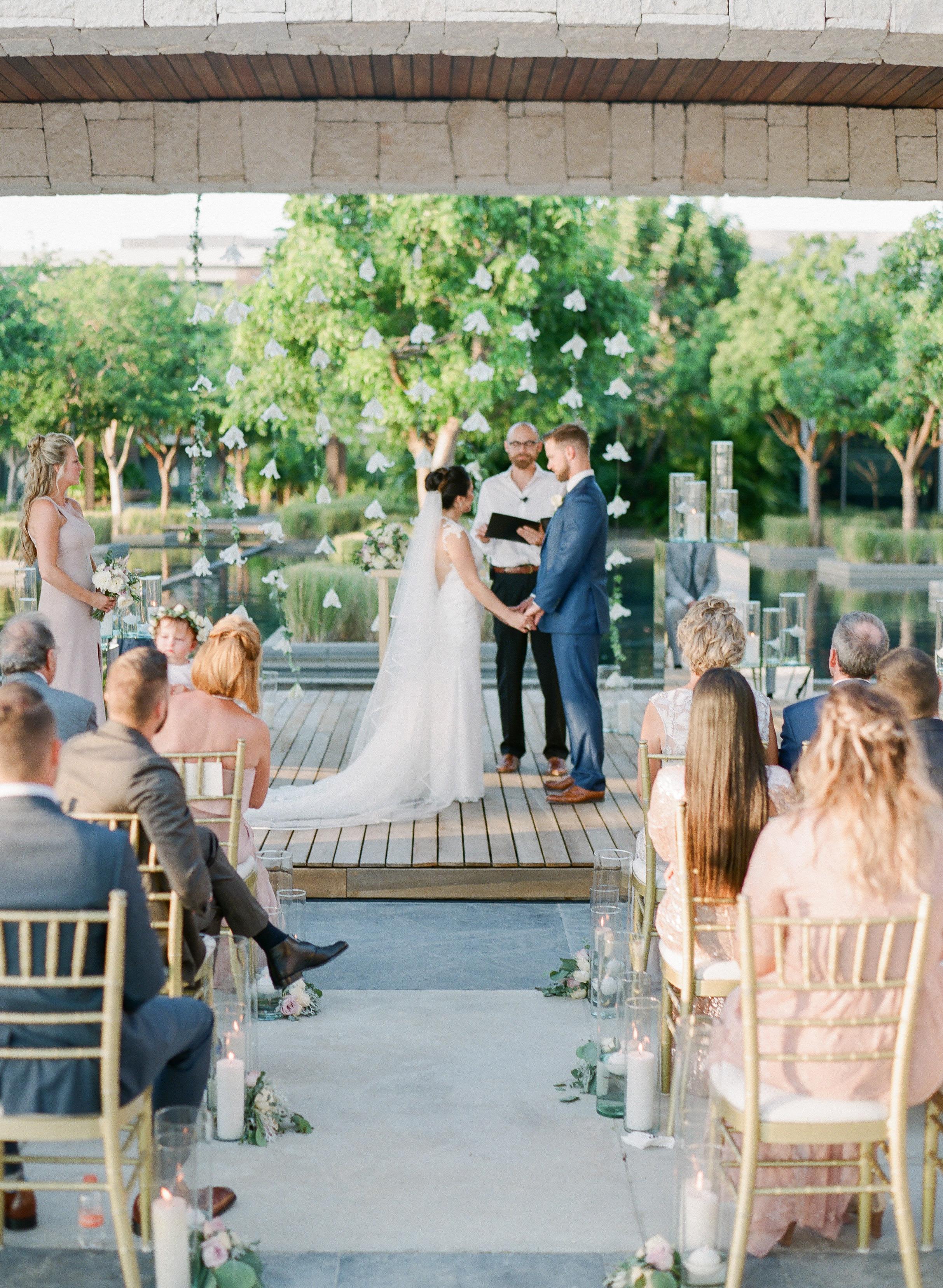 vicky james mexico wedding bride groom ceremony stage