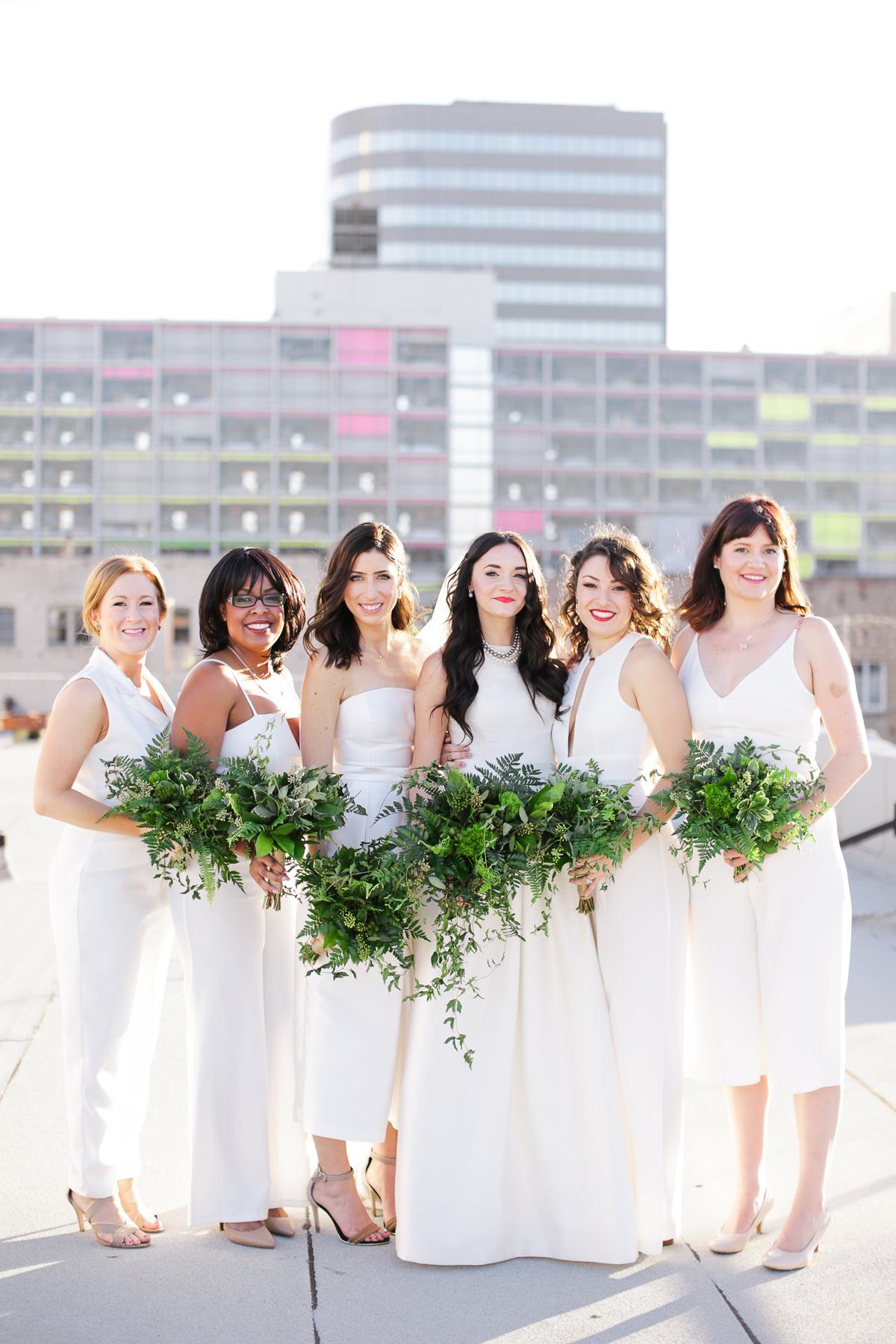 white bridesmaid dresses jenny smith