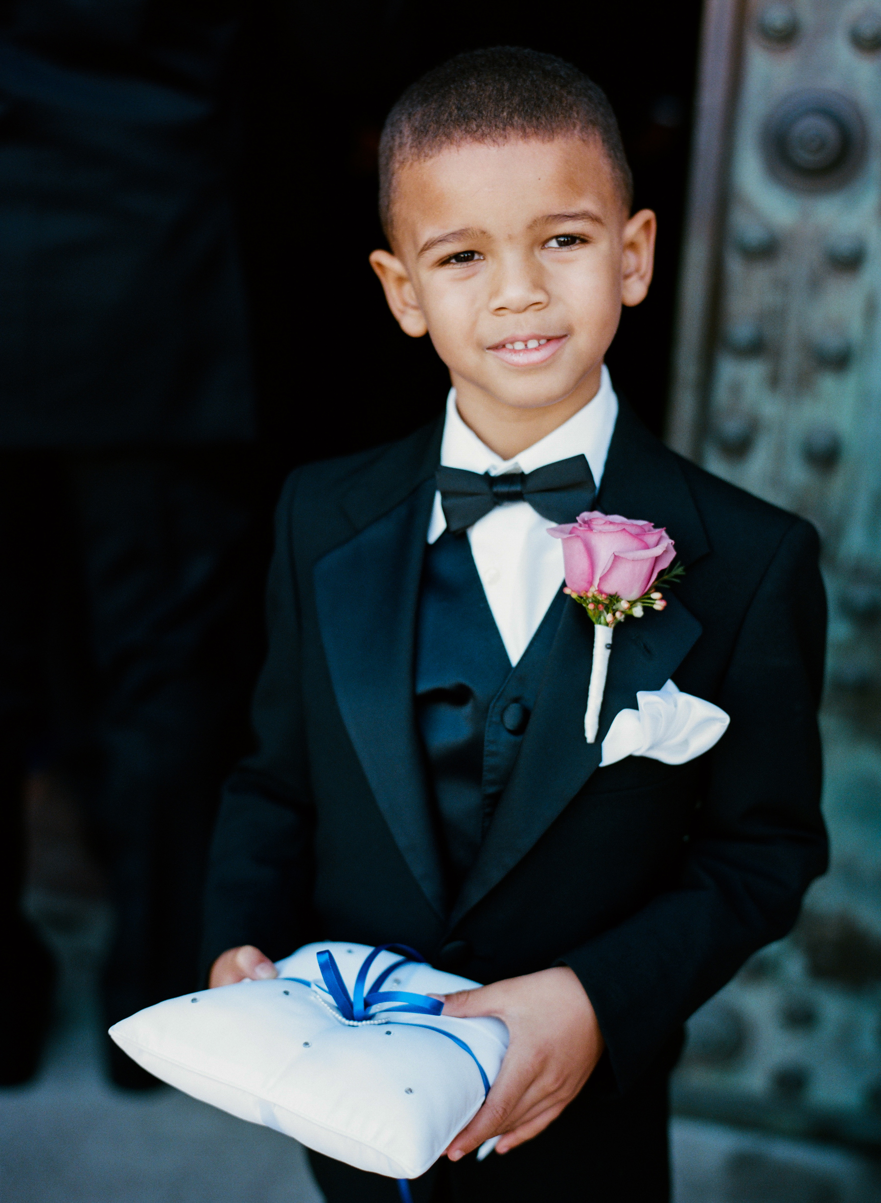 Berry Ring Bearer Boutonnière