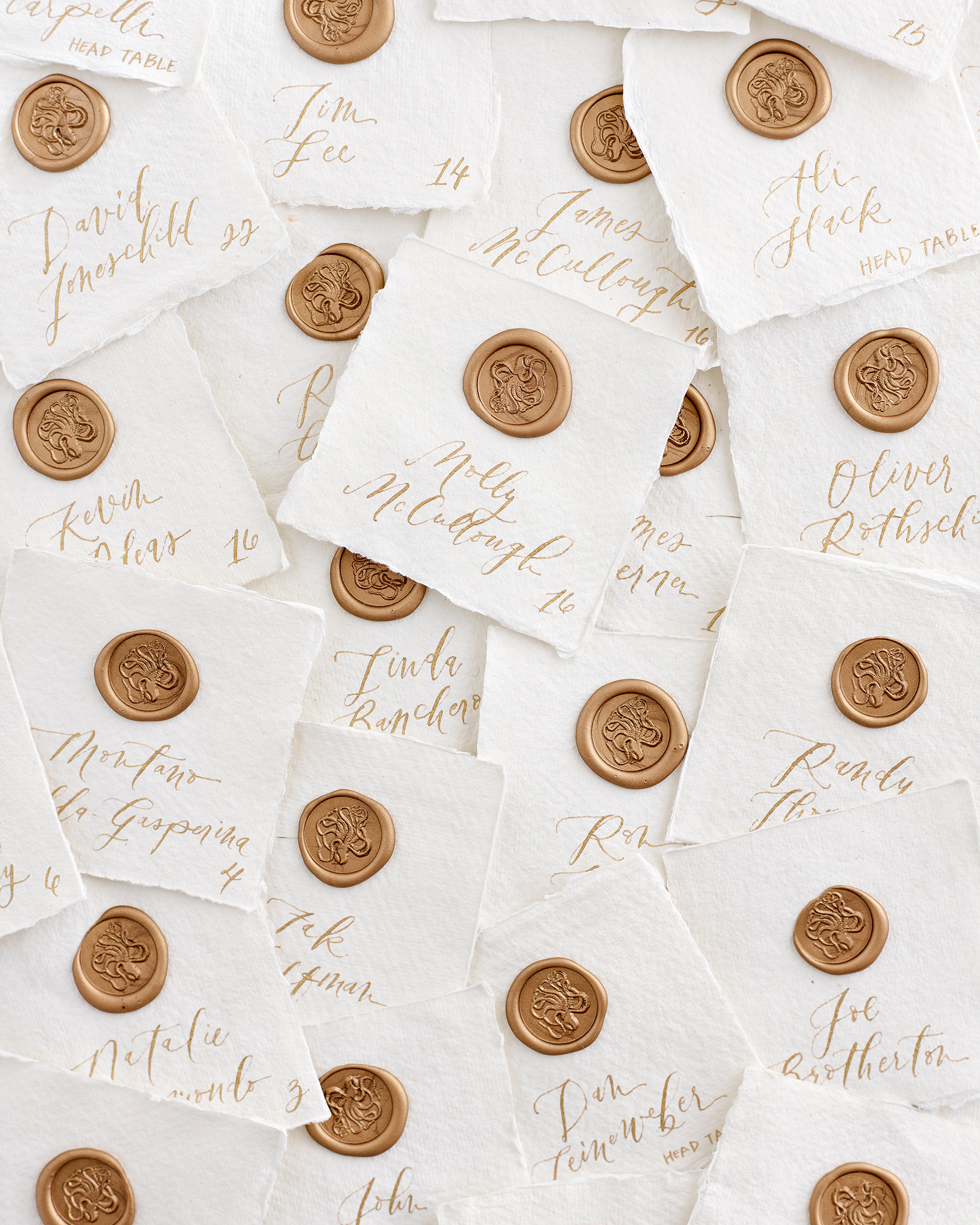 kaitlin dan wedding escort cards