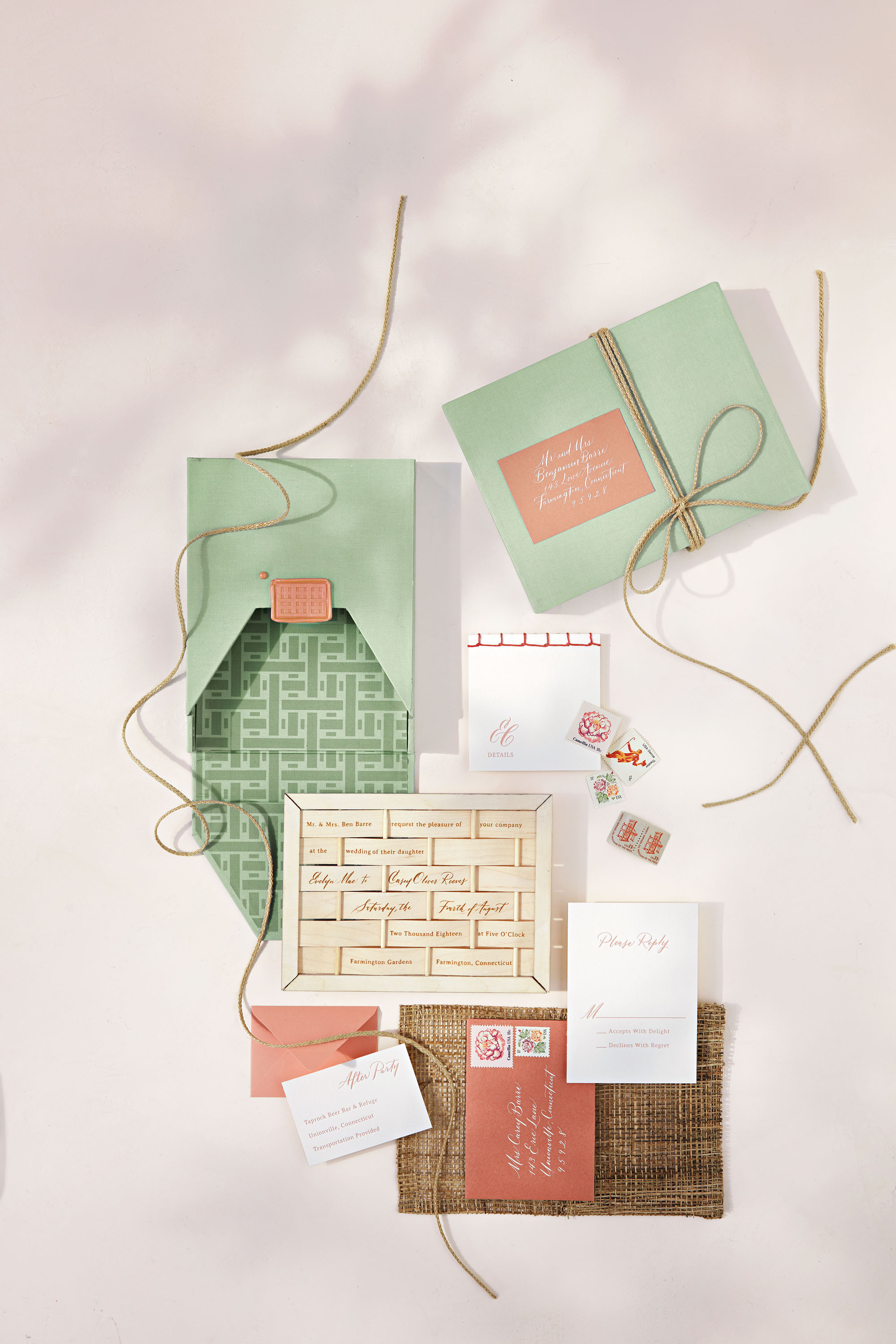 woven stationary suite