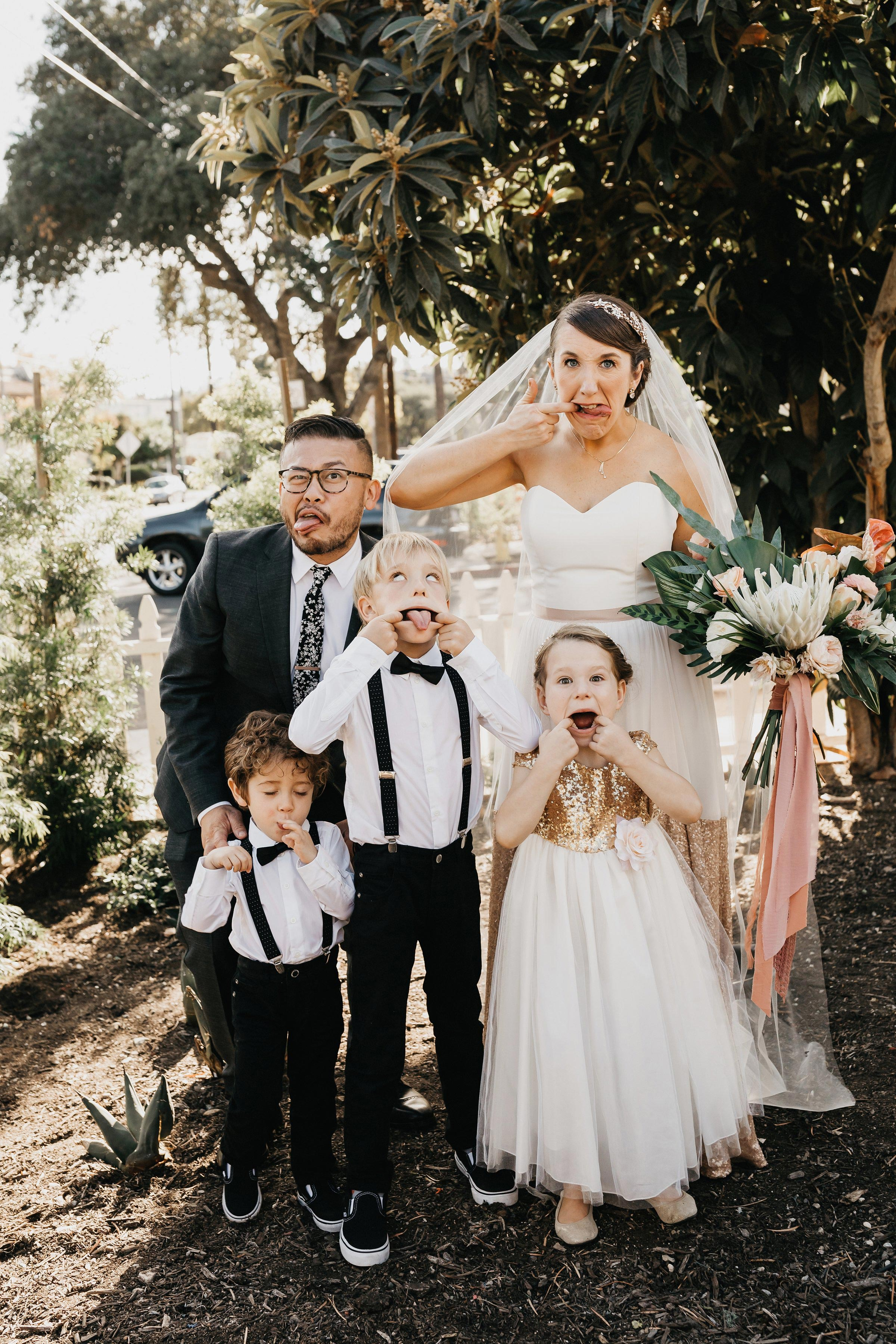 colleen pip wedding kids