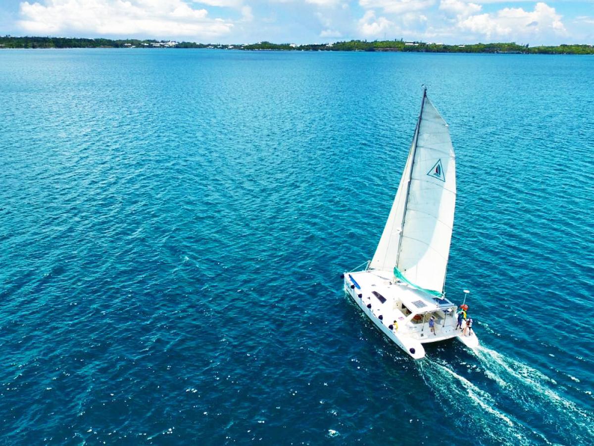 bermuda honeymoons sunset sail