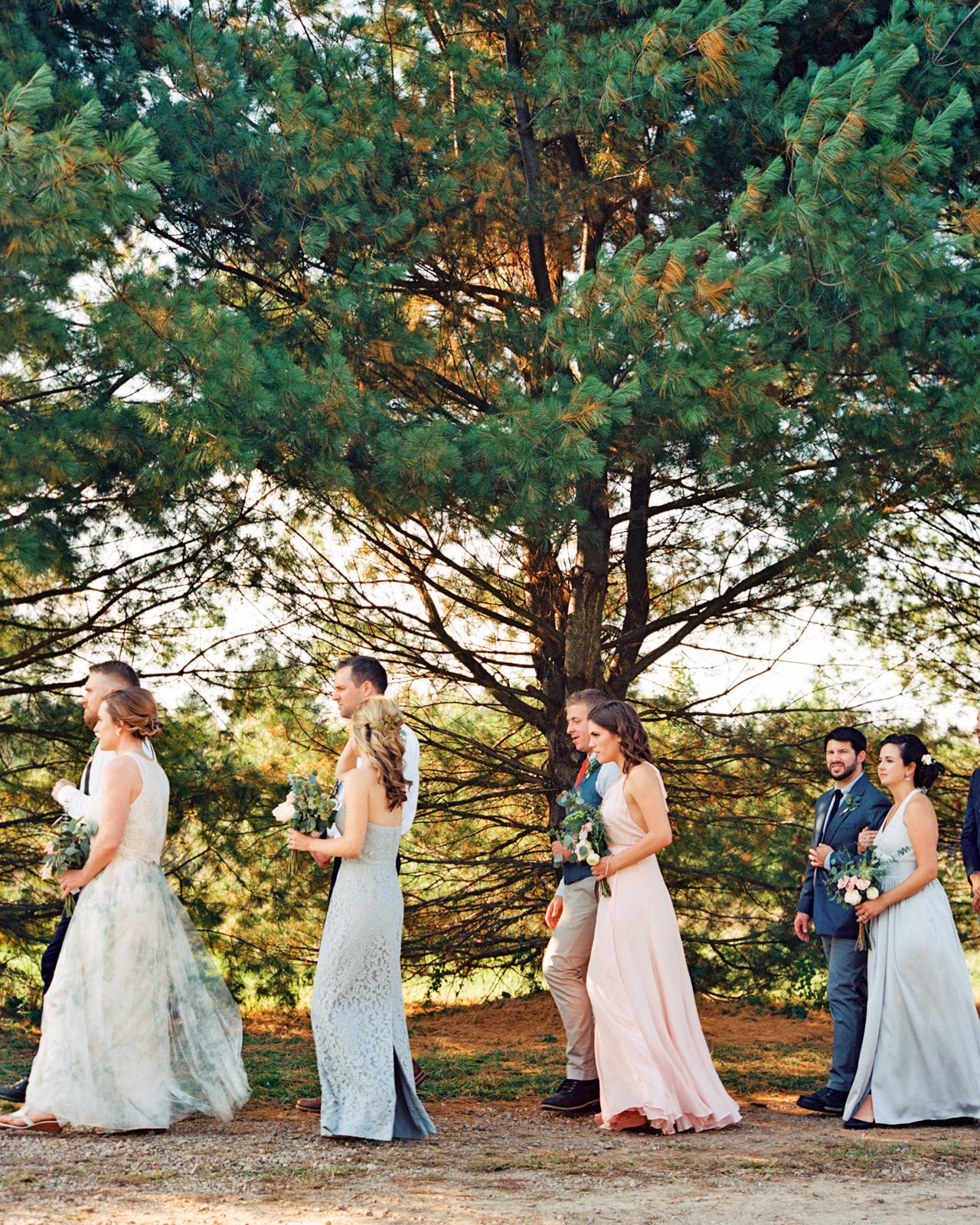 rachel elijah wedding processional wedding party