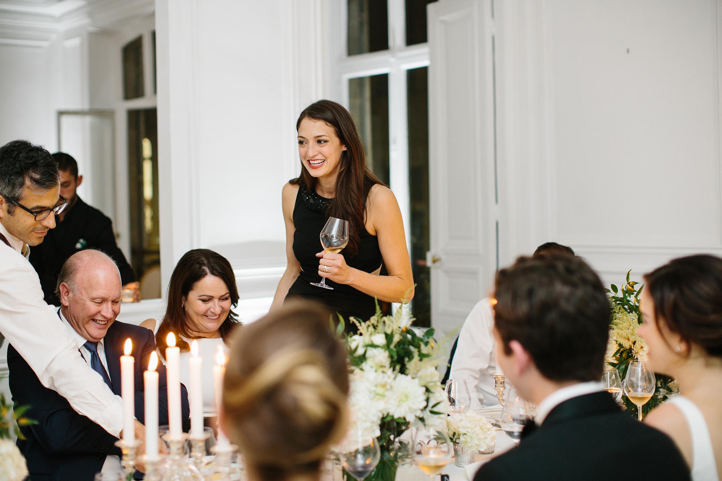 Maid of Honor Wedding Toast