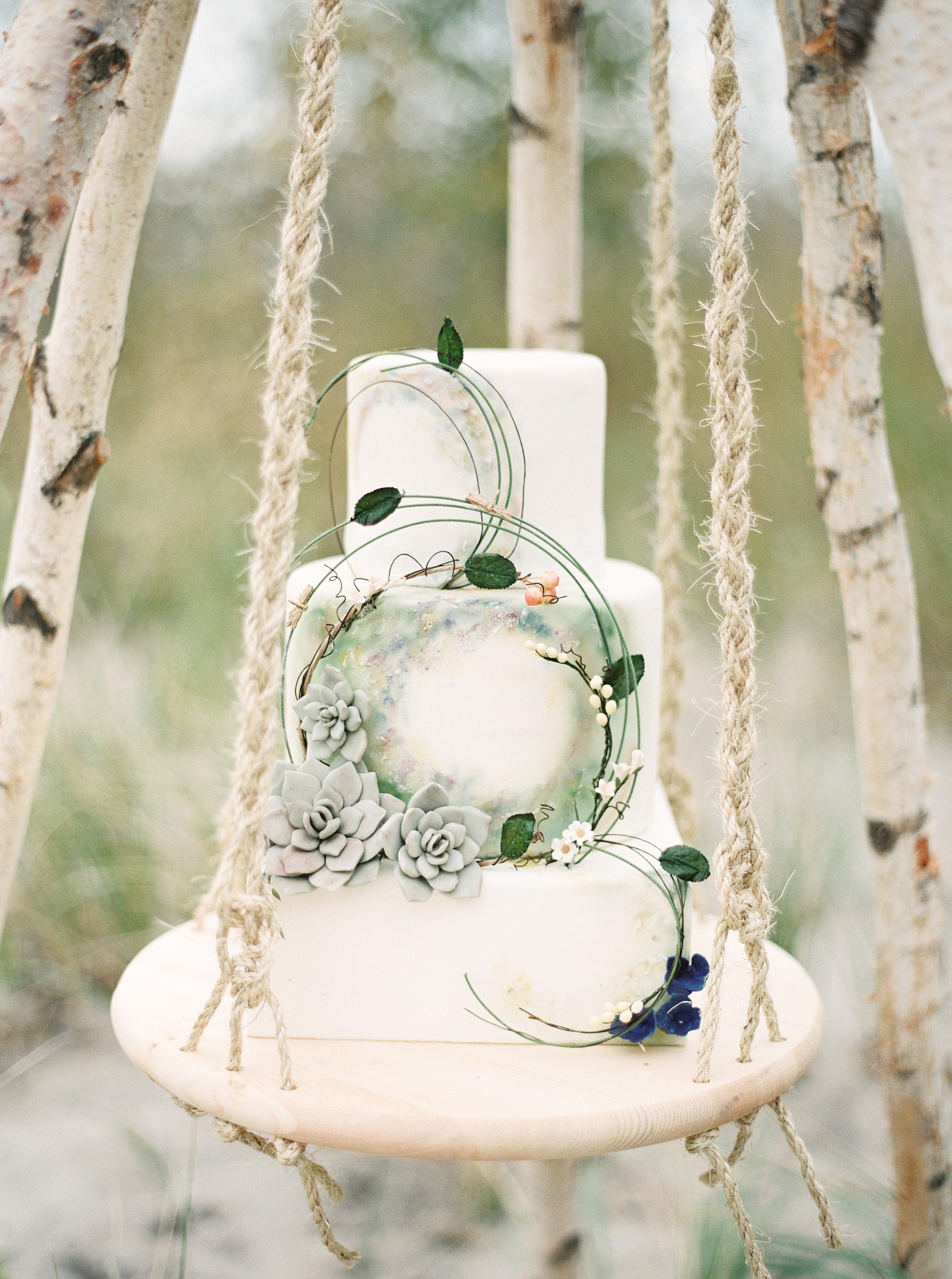 wedding cake hoop