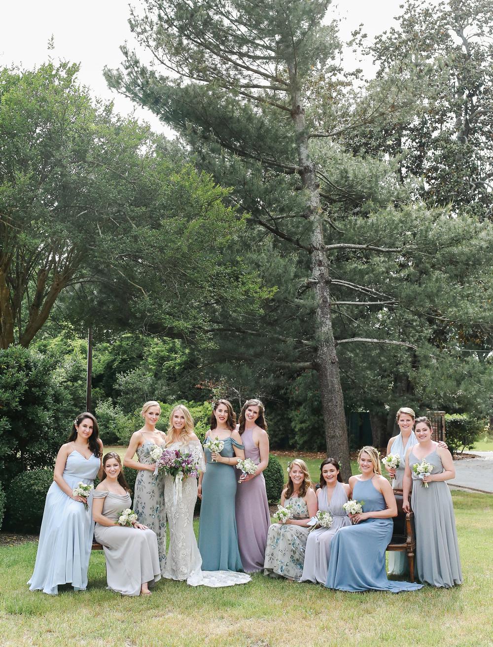 julia mitchell wedding bridesmaids
