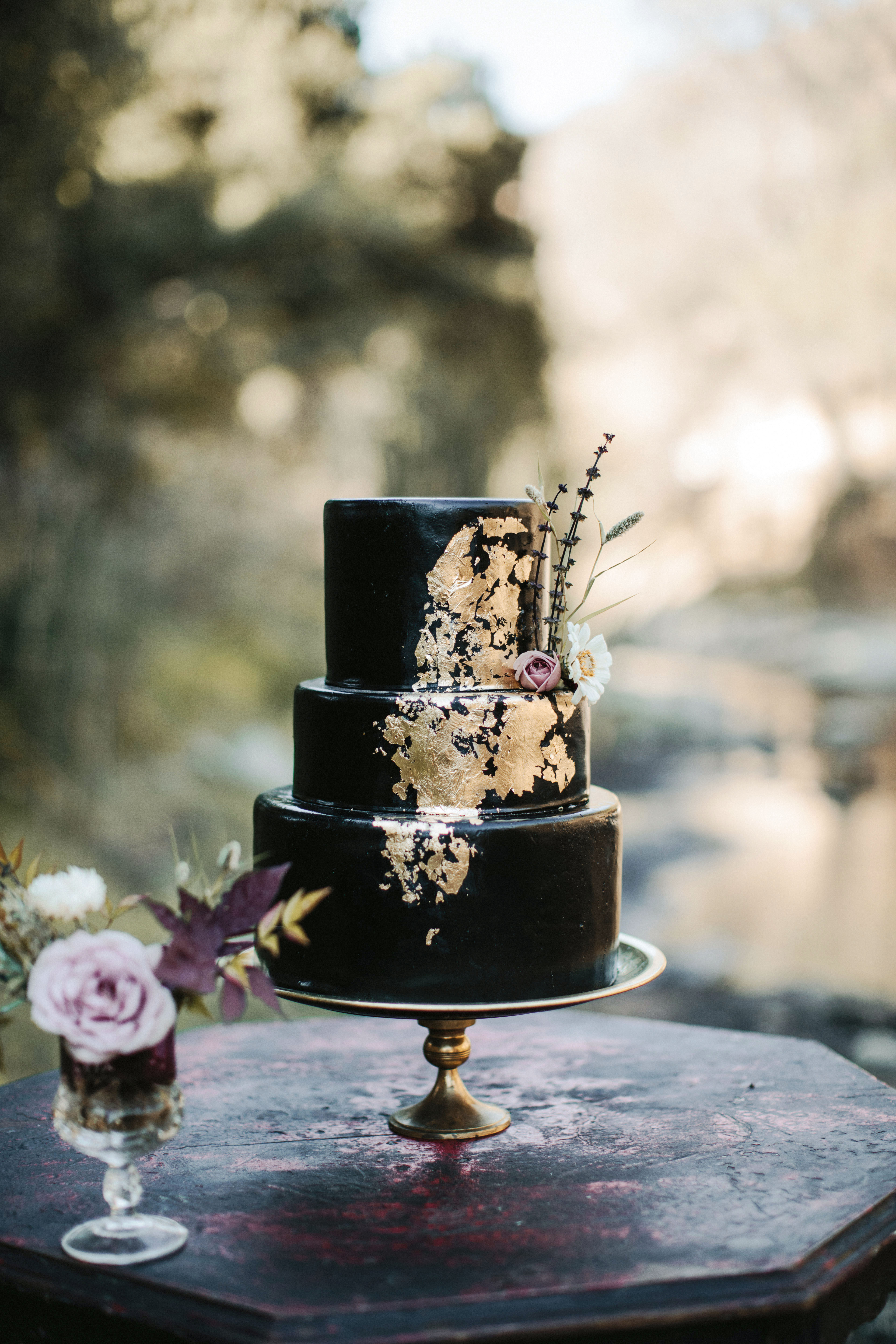A Gilded Cake
