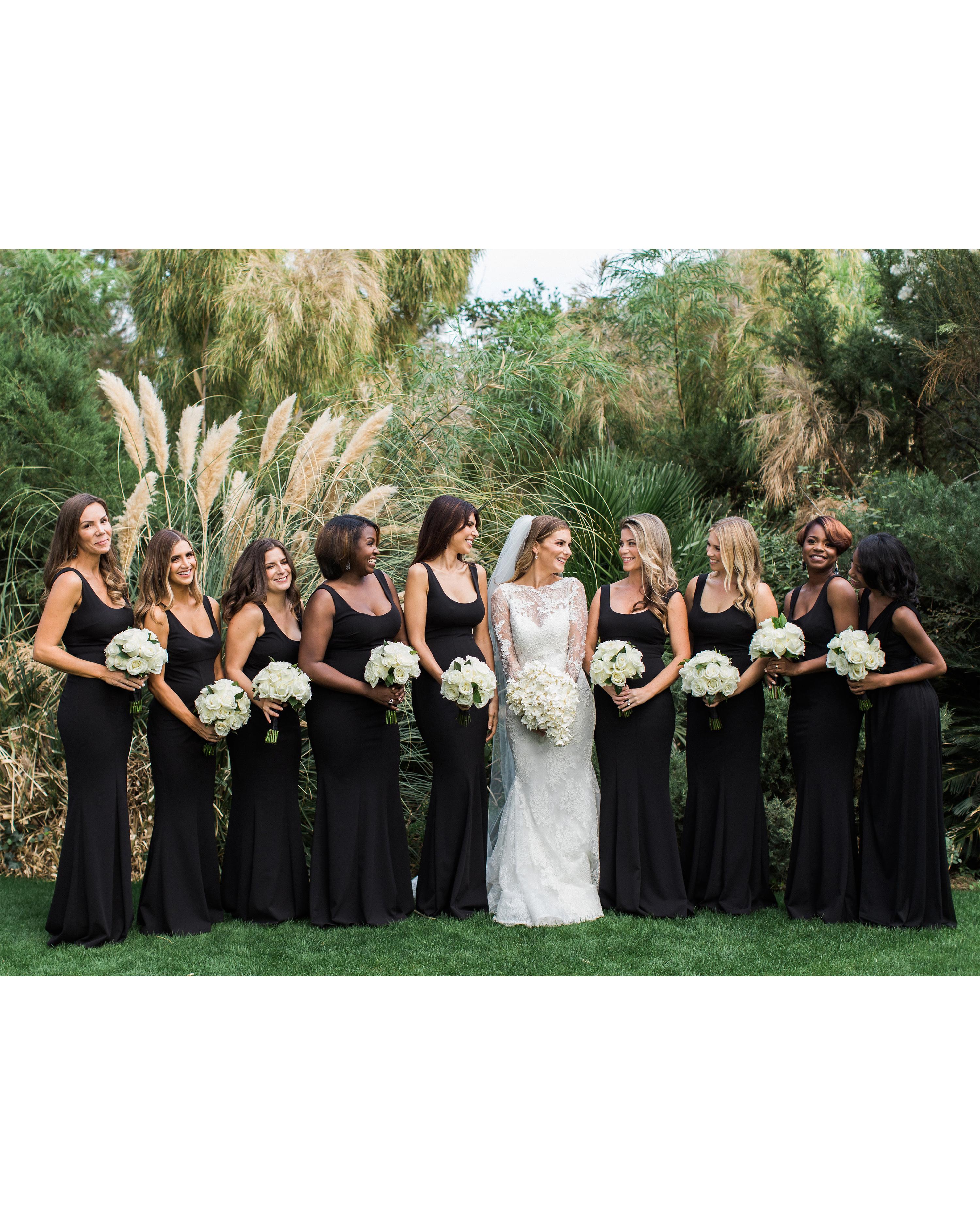 lyndsey magellan wedding bridesmaids