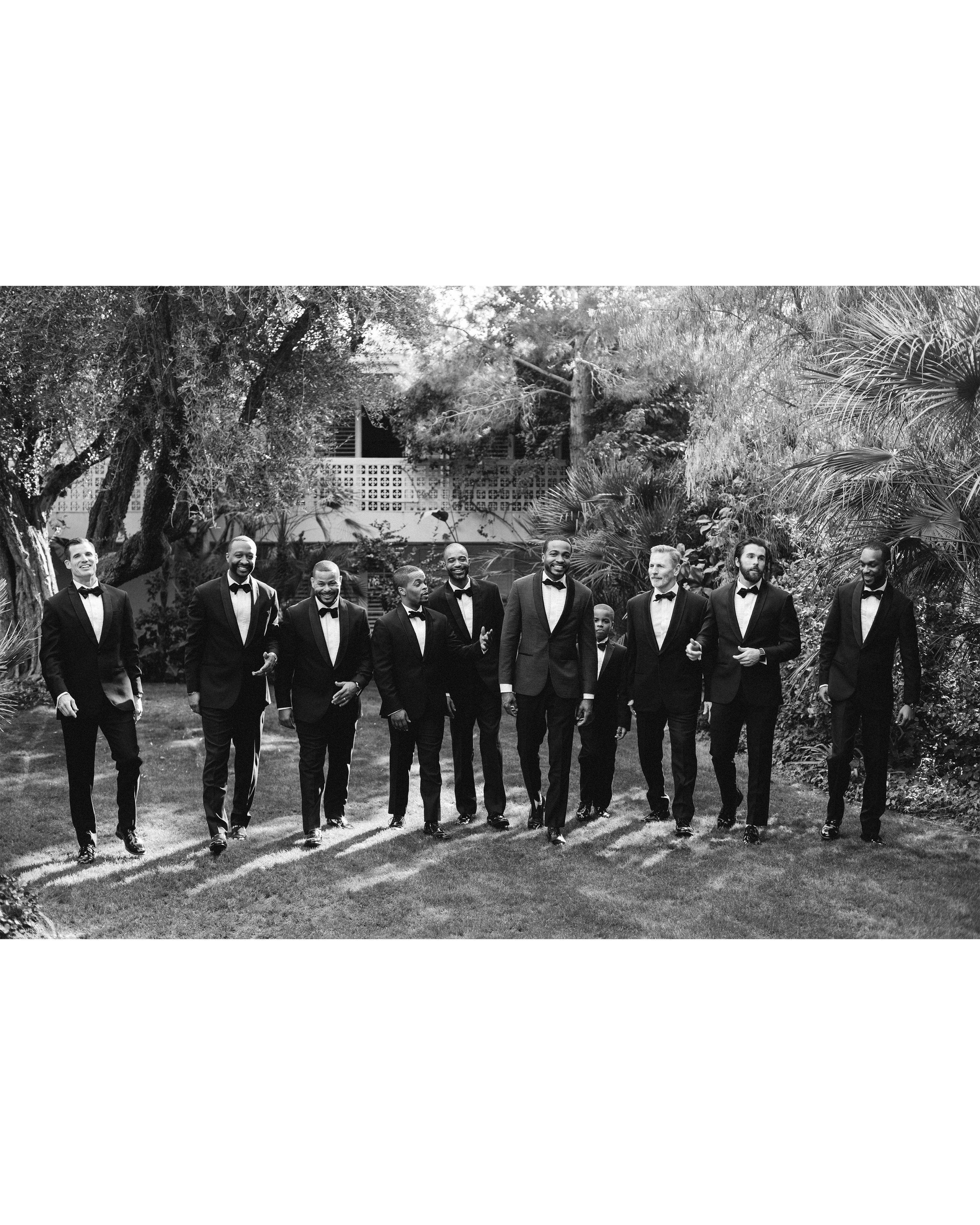 lyndsey magellan wedding groomsmen
