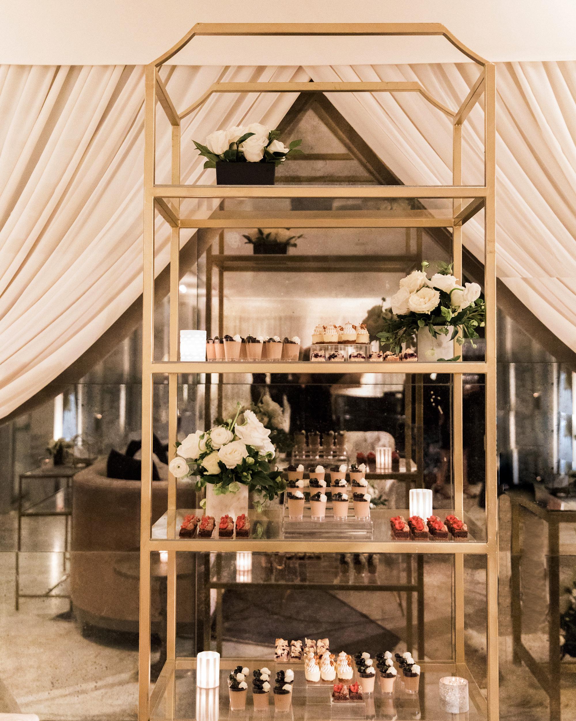 lyndsey magellan wedding dessert